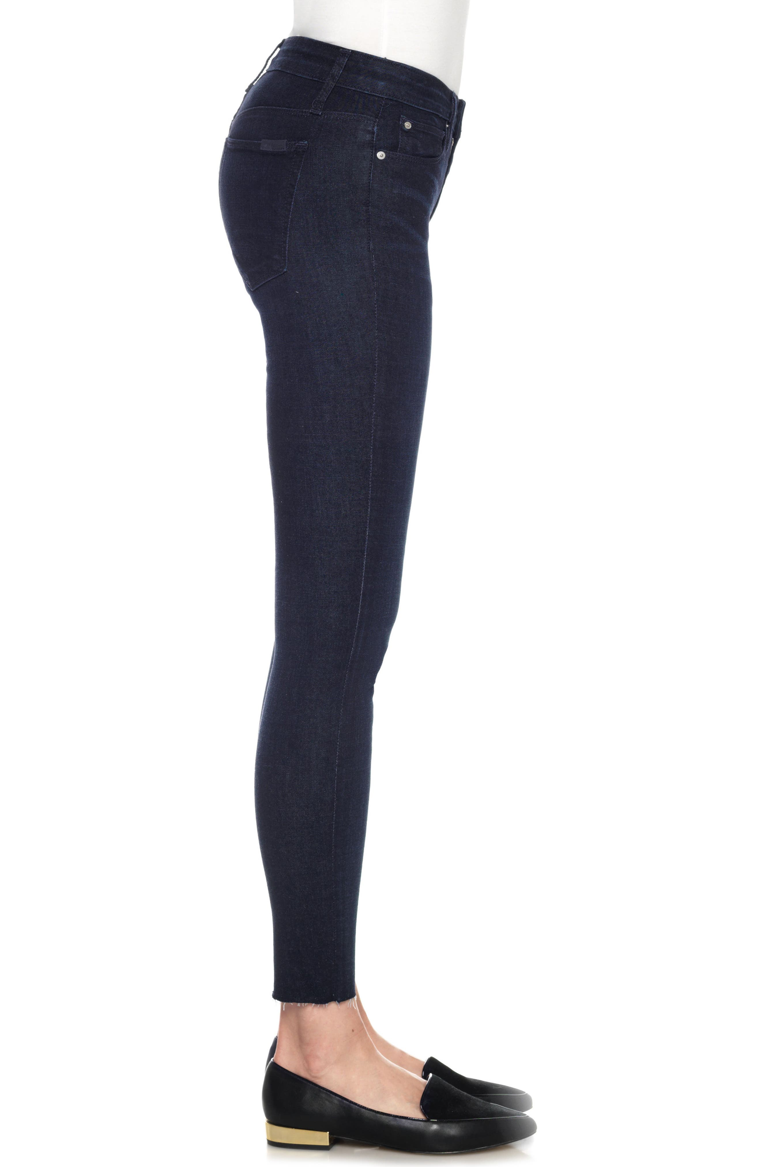 Flawless - Icon Ankle Skinny Jeans,                             Alternate thumbnail 3, color,                             400