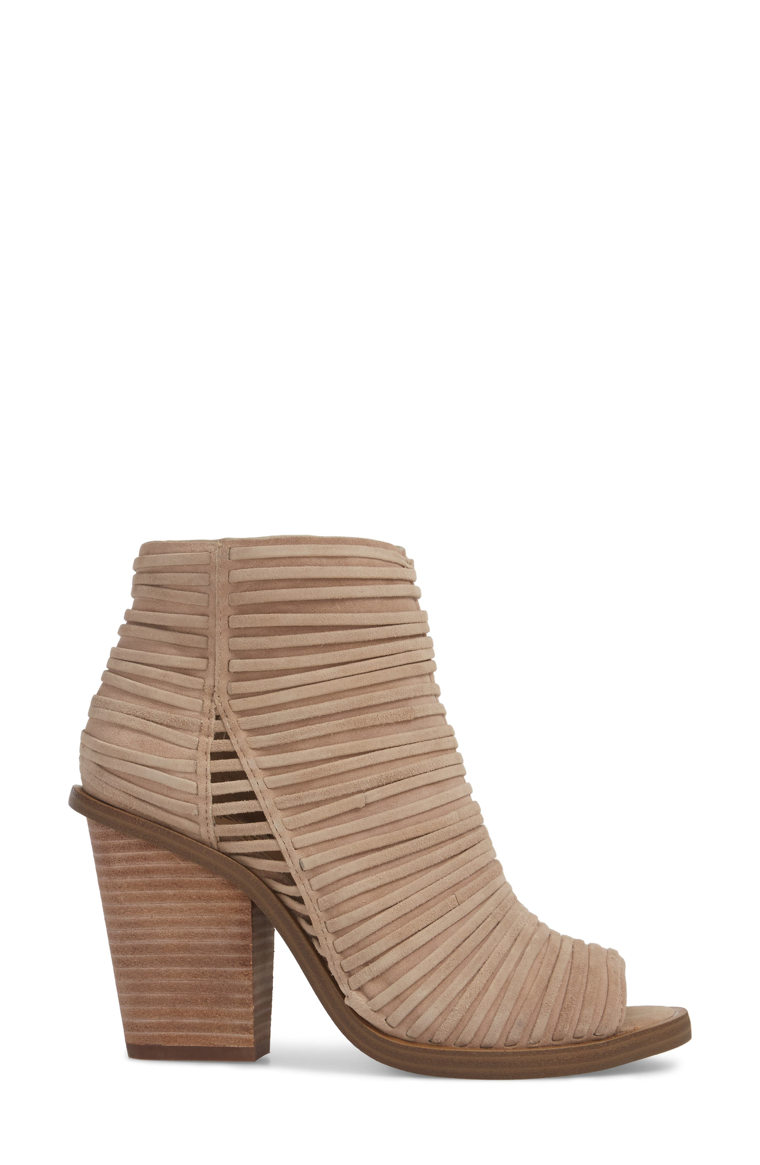 Feteena Bootie,                             Alternate thumbnail 3, color,                             FRENCH TAUPE SUEDE