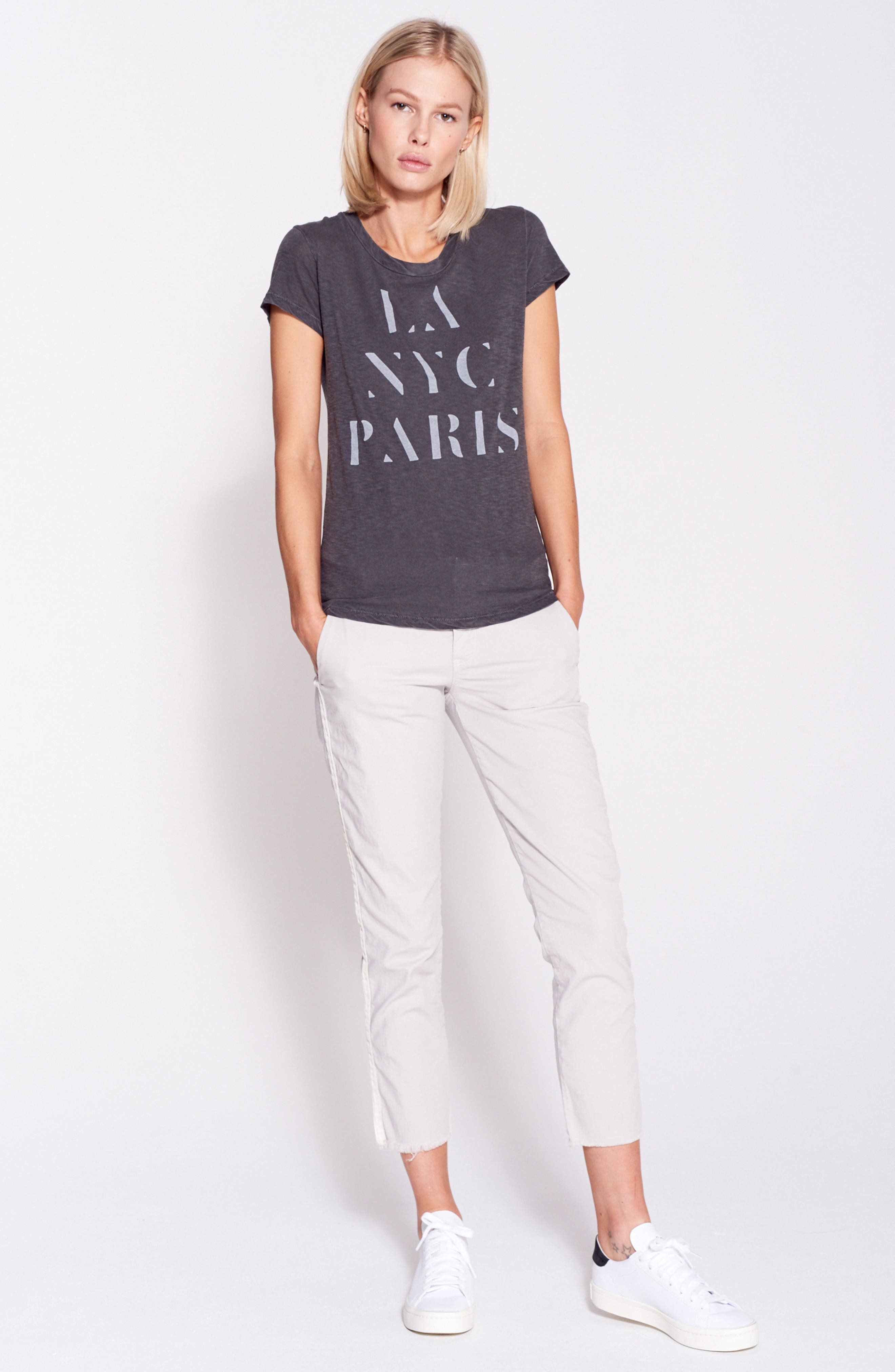 LA NYC Paris Pima Cotton Boy Tee,                             Alternate thumbnail 7, color,                             026