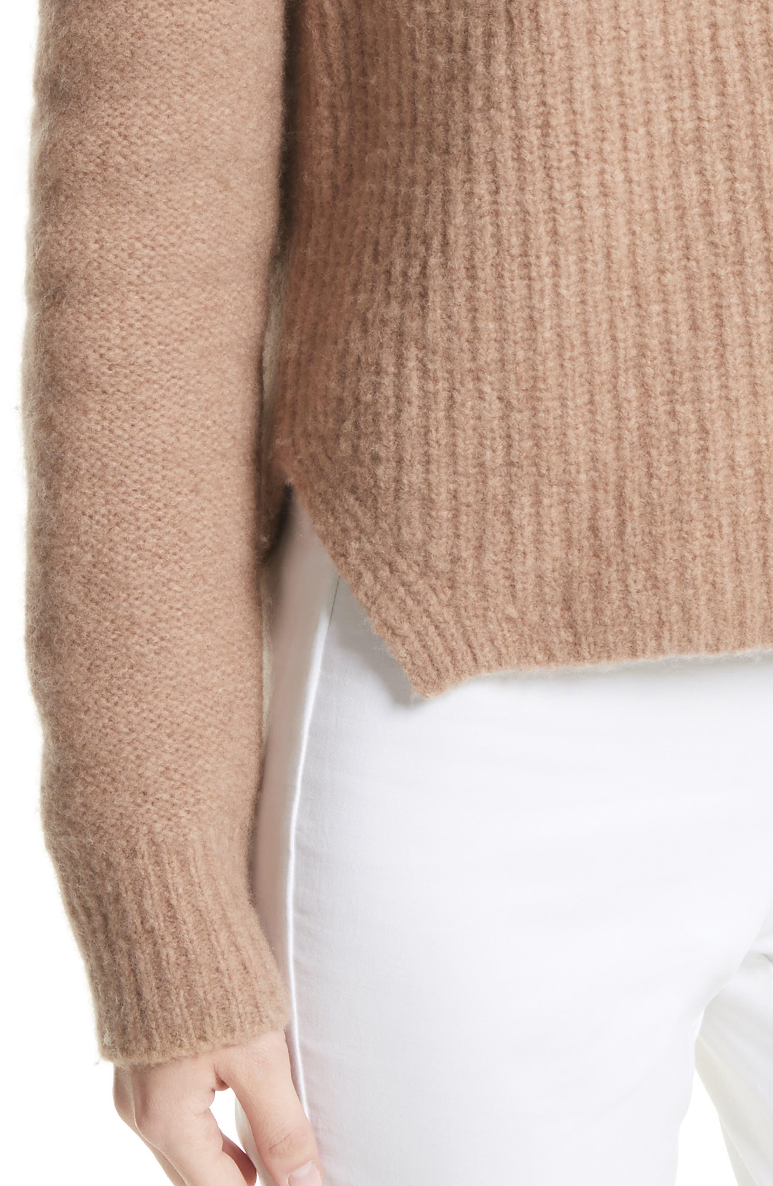 Francie Merino Wool Blend Sweater,                             Alternate thumbnail 4, color,                             230