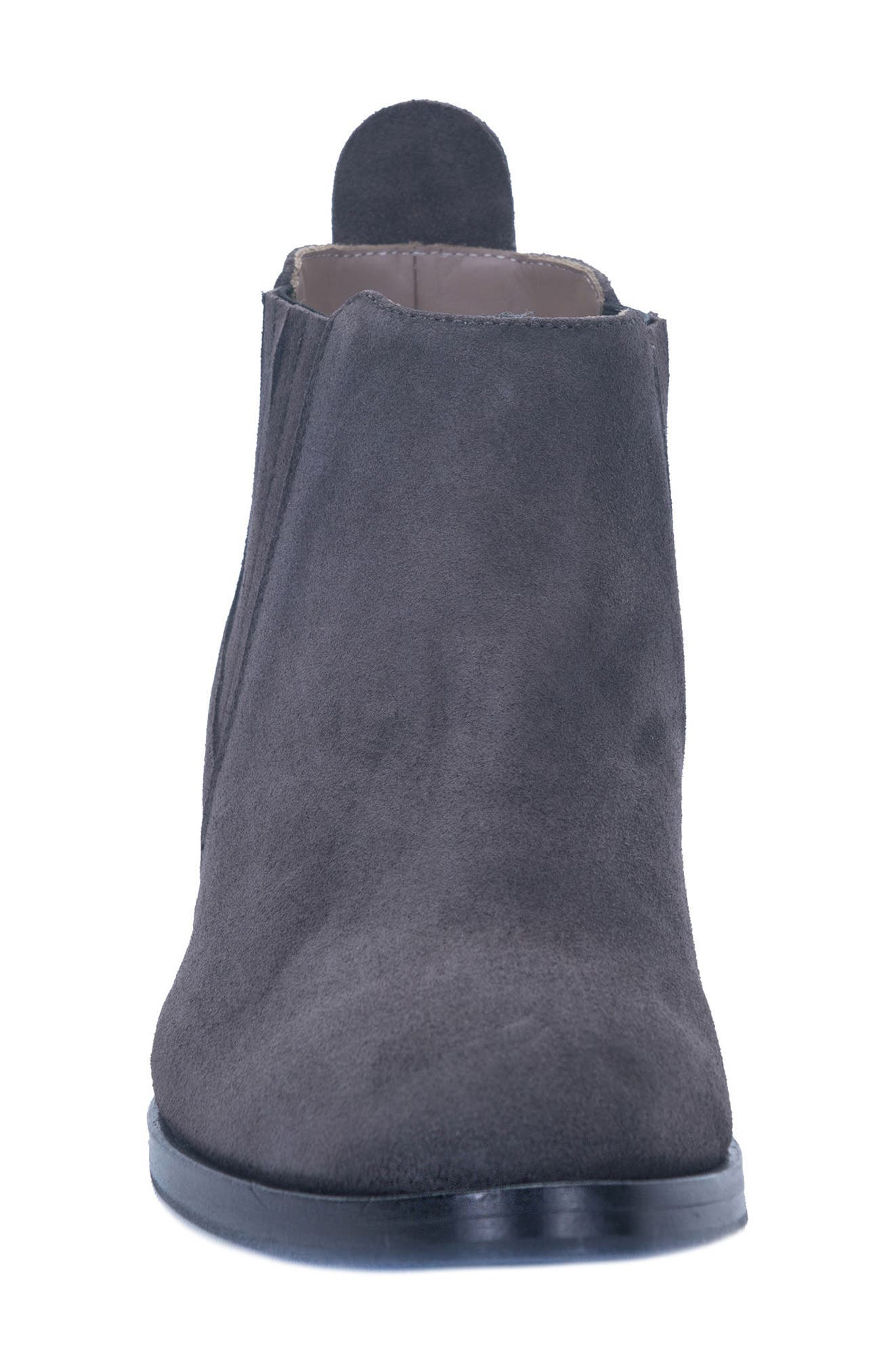 Corsini Water-Resistant Pull On Bootie,                             Alternate thumbnail 4, color,                             033