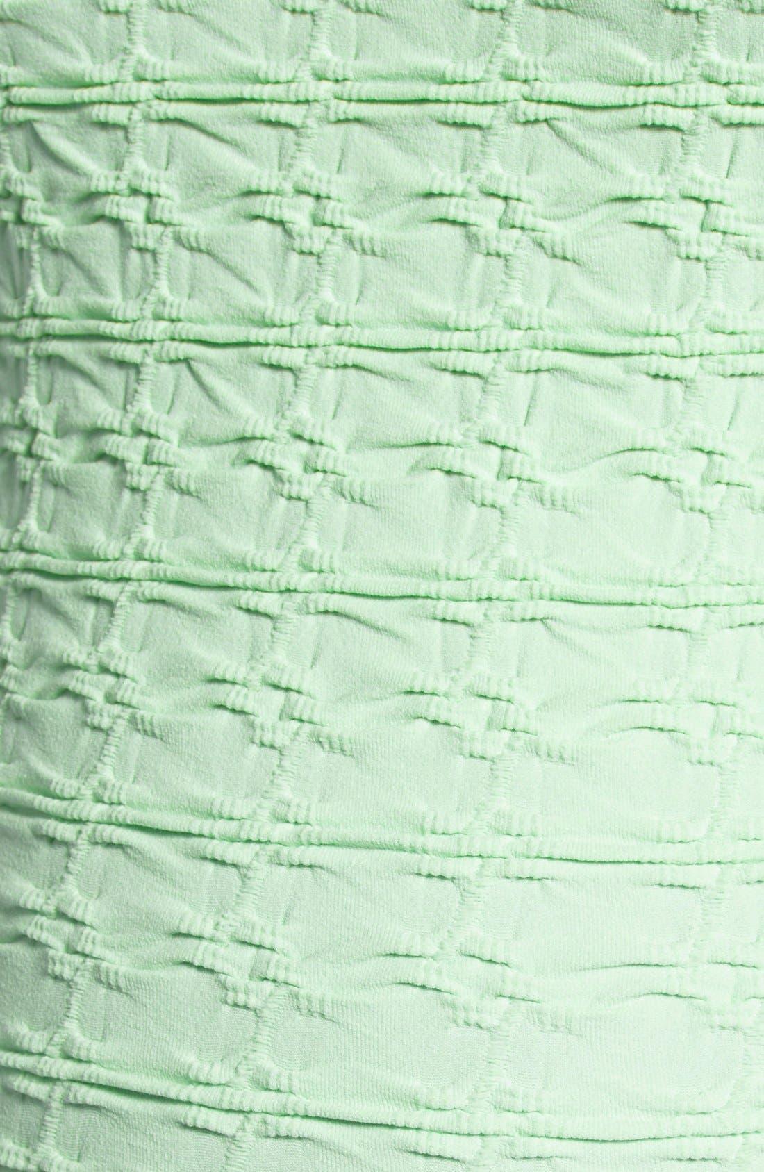 'Crinkle' Maternity Midi Dress,                             Alternate thumbnail 13, color,