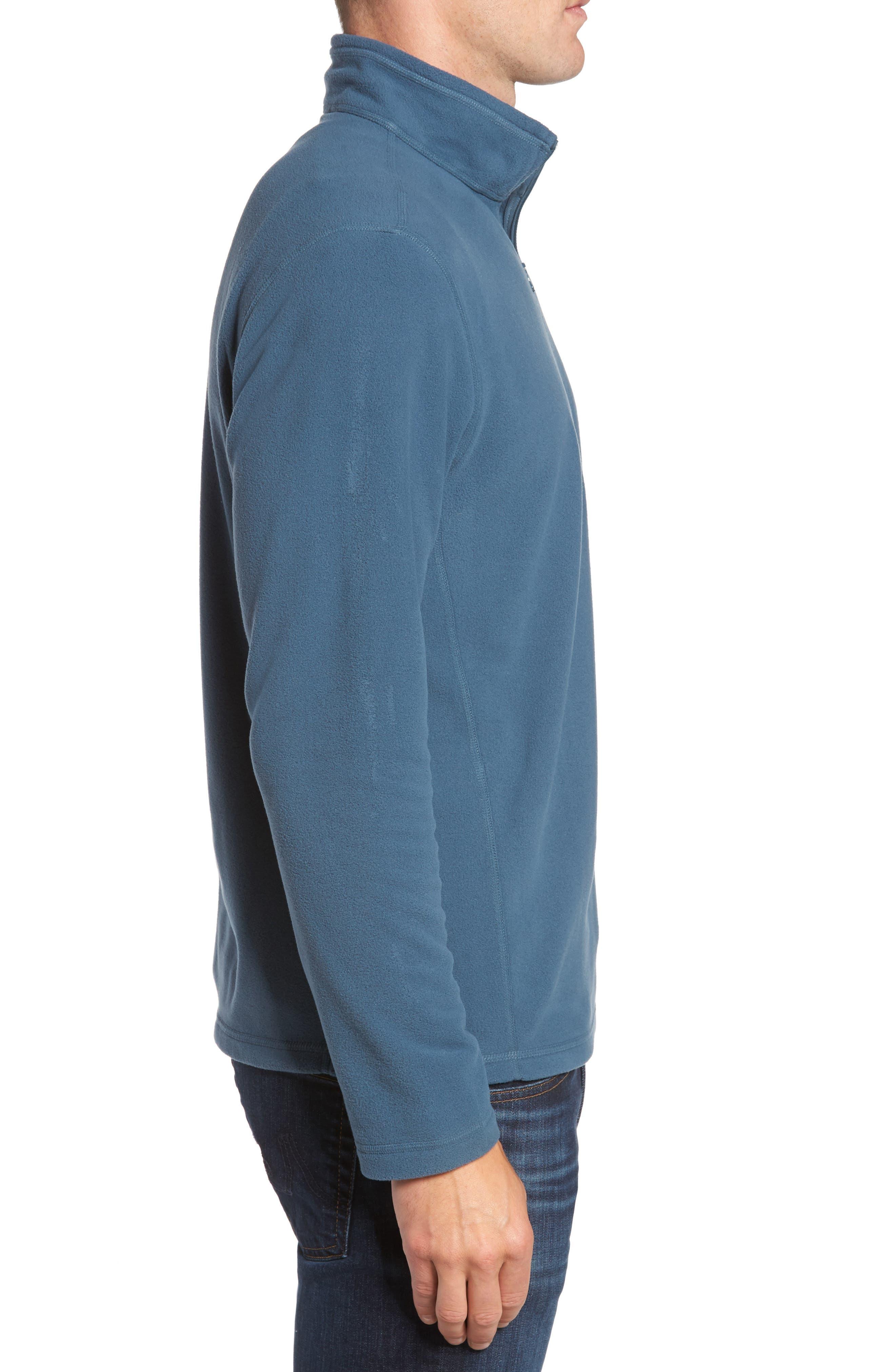 'TKA 100 Glacier' Quarter Zip Fleece Pullover,                             Alternate thumbnail 98, color,