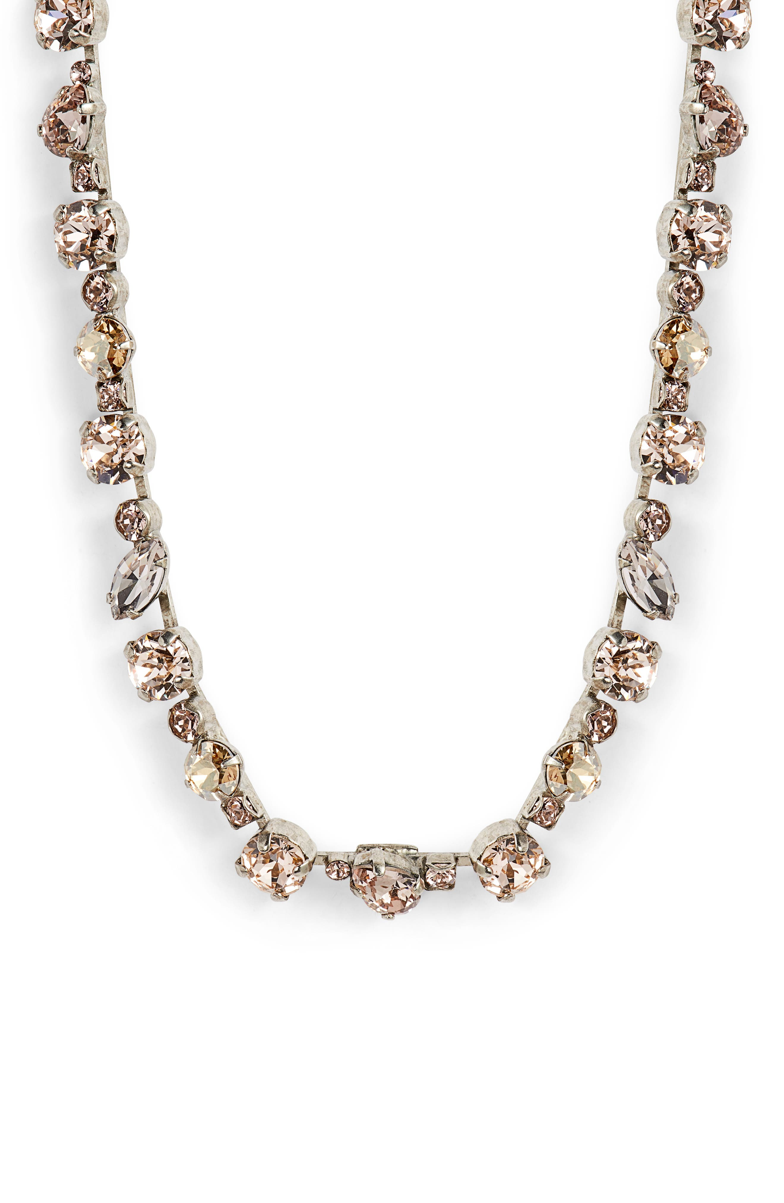 Crystal Collective Necklace,                             Main thumbnail 1, color,                             650
