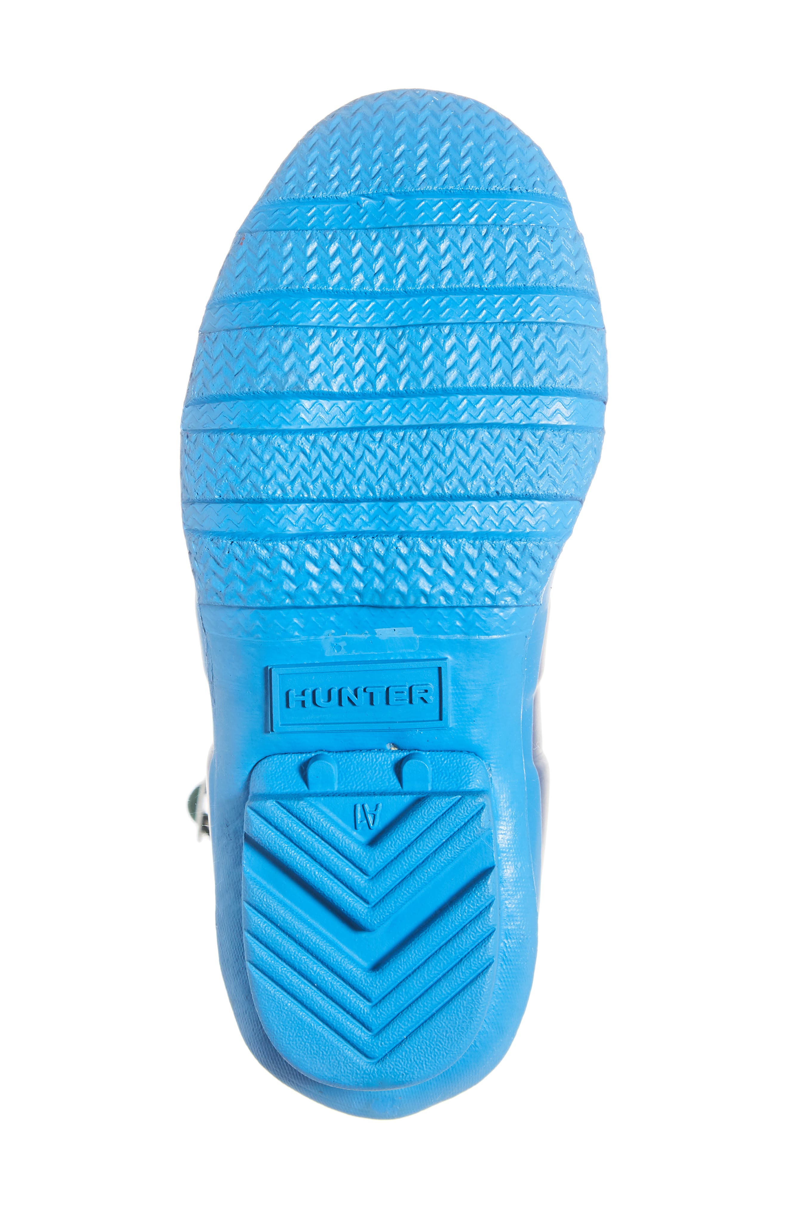 Original Colorblock Rain Boot,                             Alternate thumbnail 6, color,                             PEAK BLUE COLORBLOCK