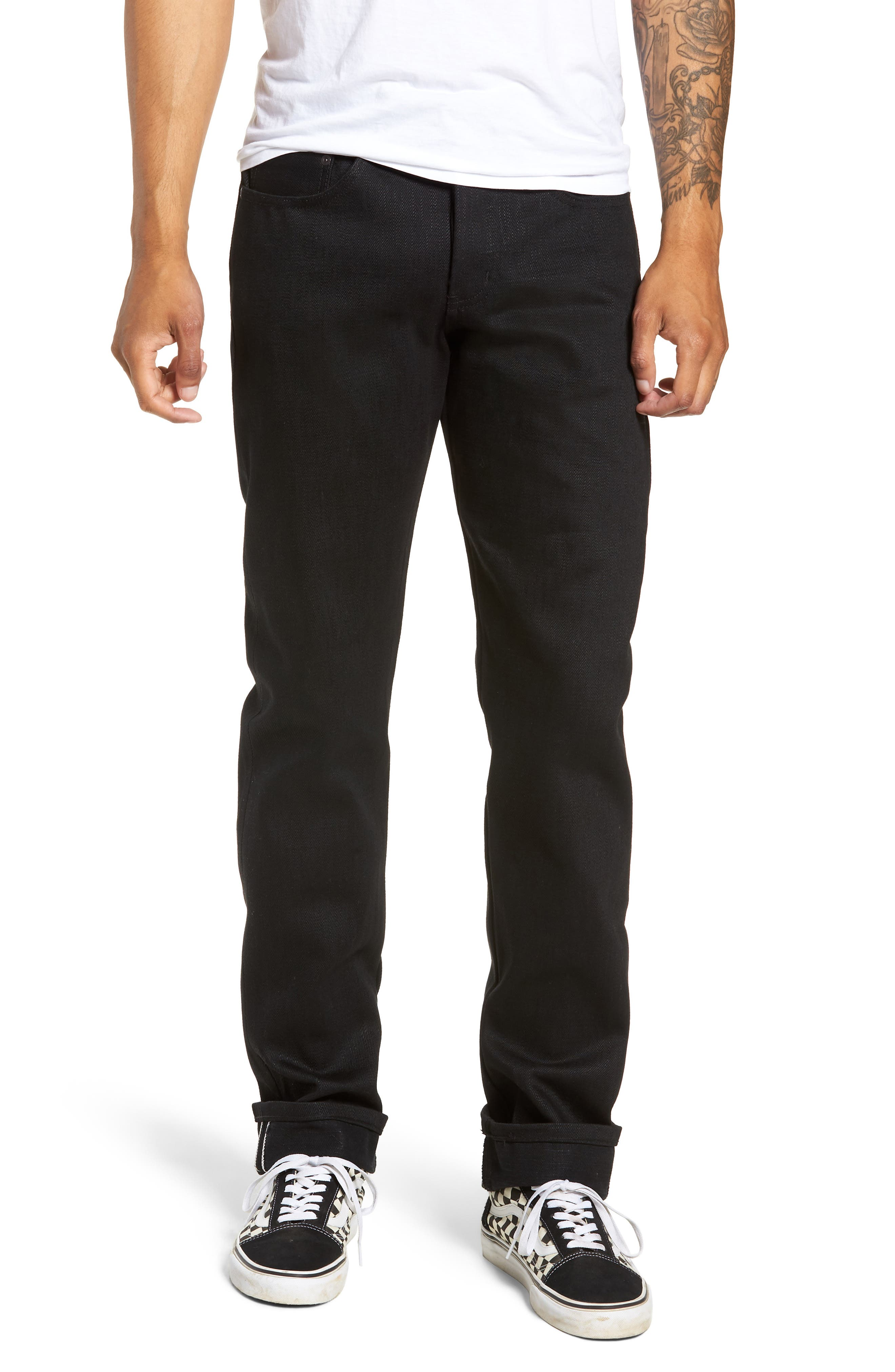 Weird Guy Slim Fit Jeans,                         Main,                         color, ELEPHANT 7 EL DIABLO