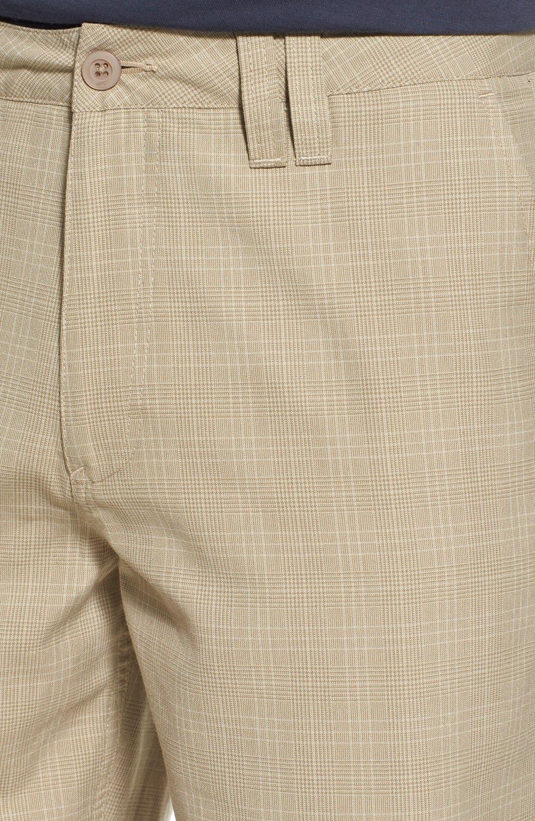 'Delta Plaid' Chino Shorts,                             Alternate thumbnail 25, color,