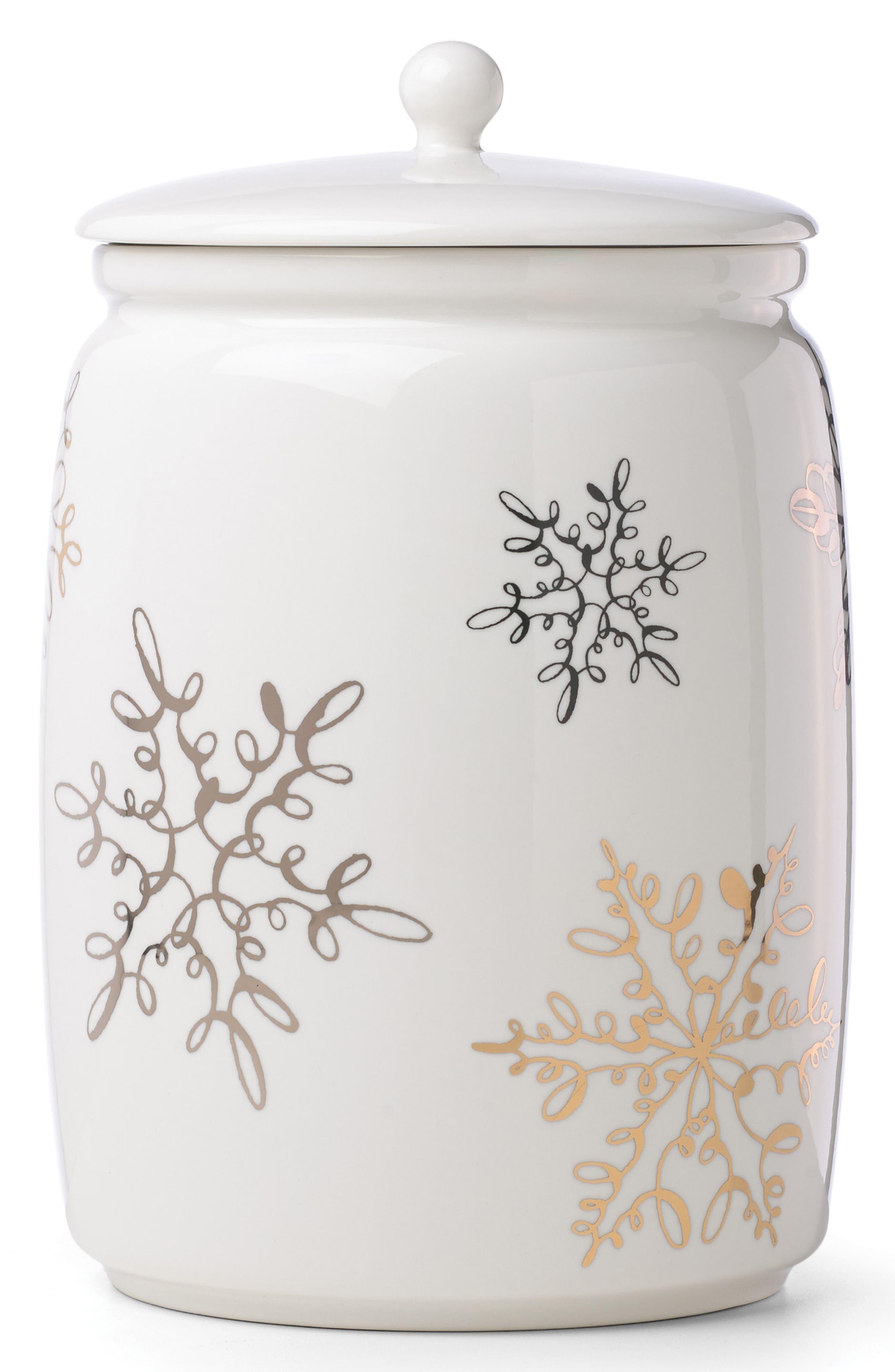 jingle all the way porcelain cookie jar,                             Main thumbnail 1, color,                             100