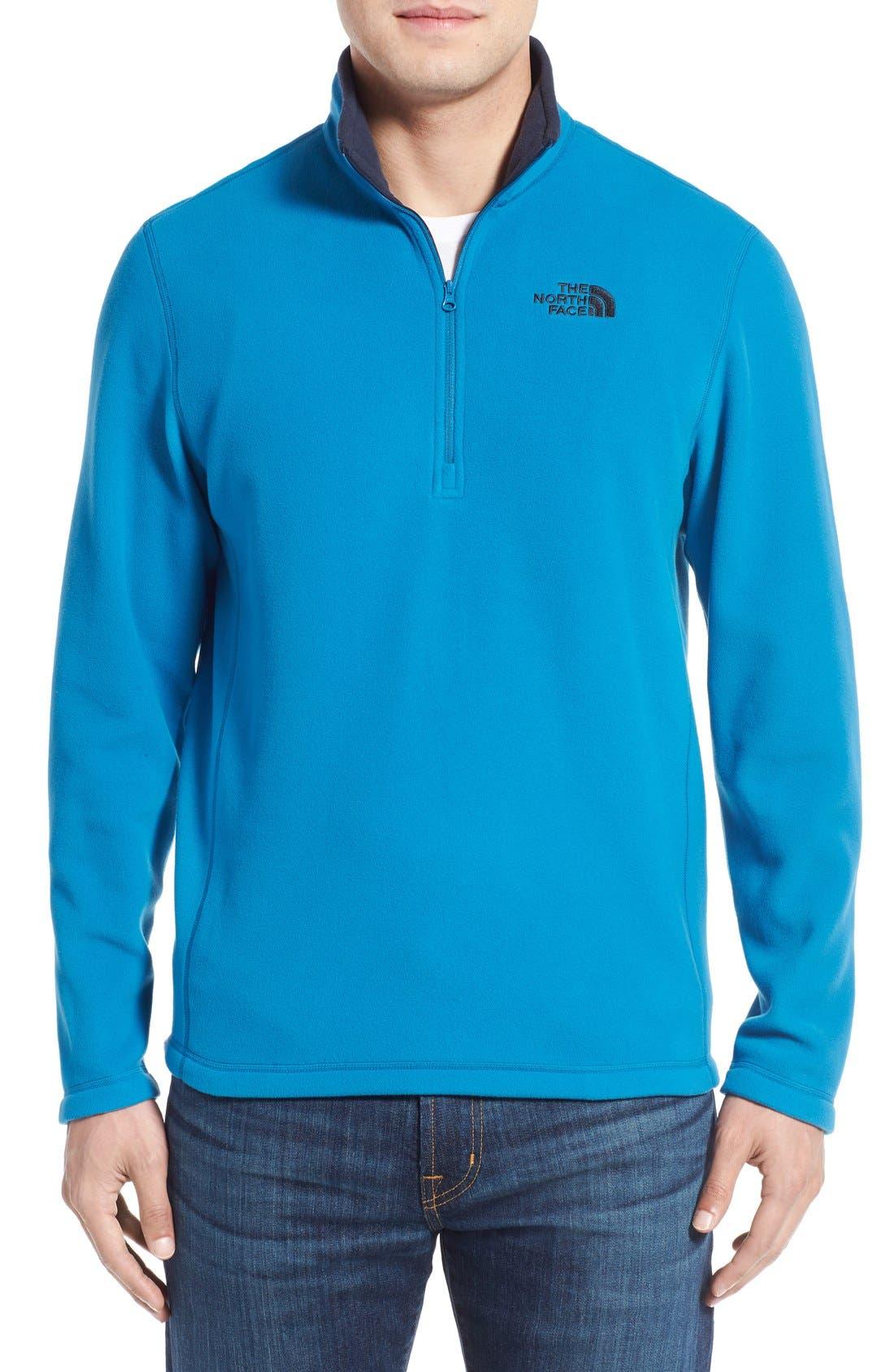 'TKA 100 Glacier' Quarter Zip Fleece Pullover,                             Main thumbnail 38, color,