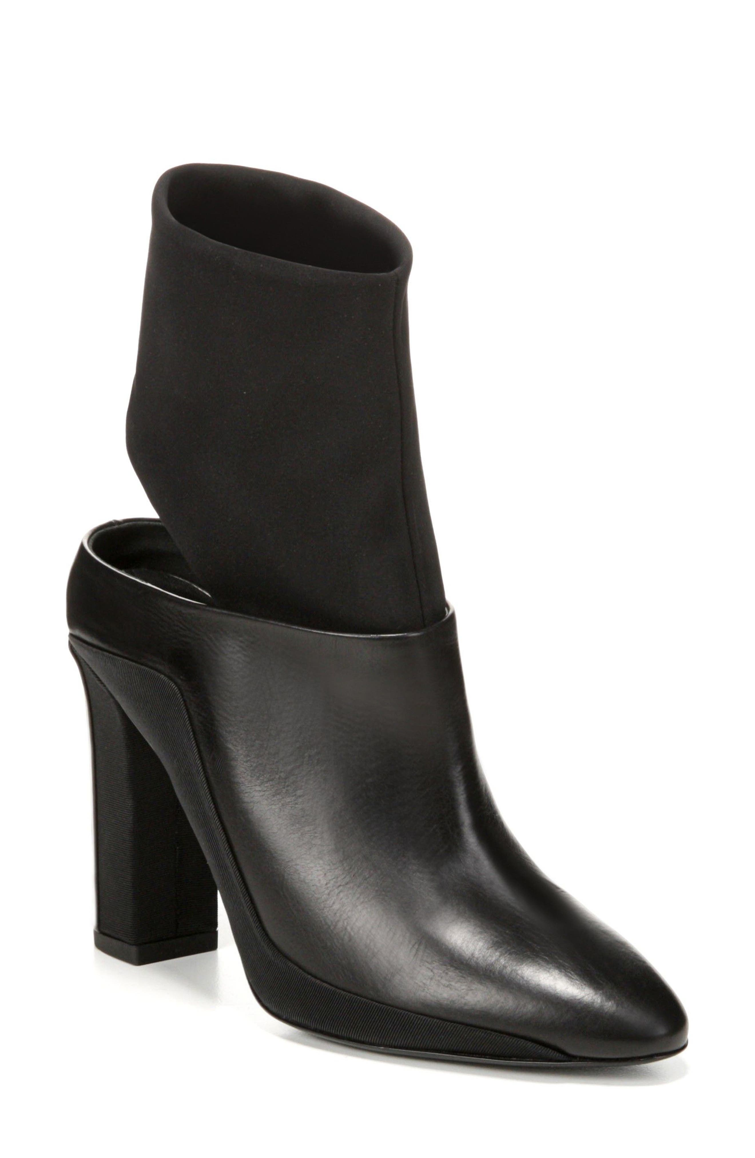 Agyness Cutout Boot,                             Main thumbnail 1, color,