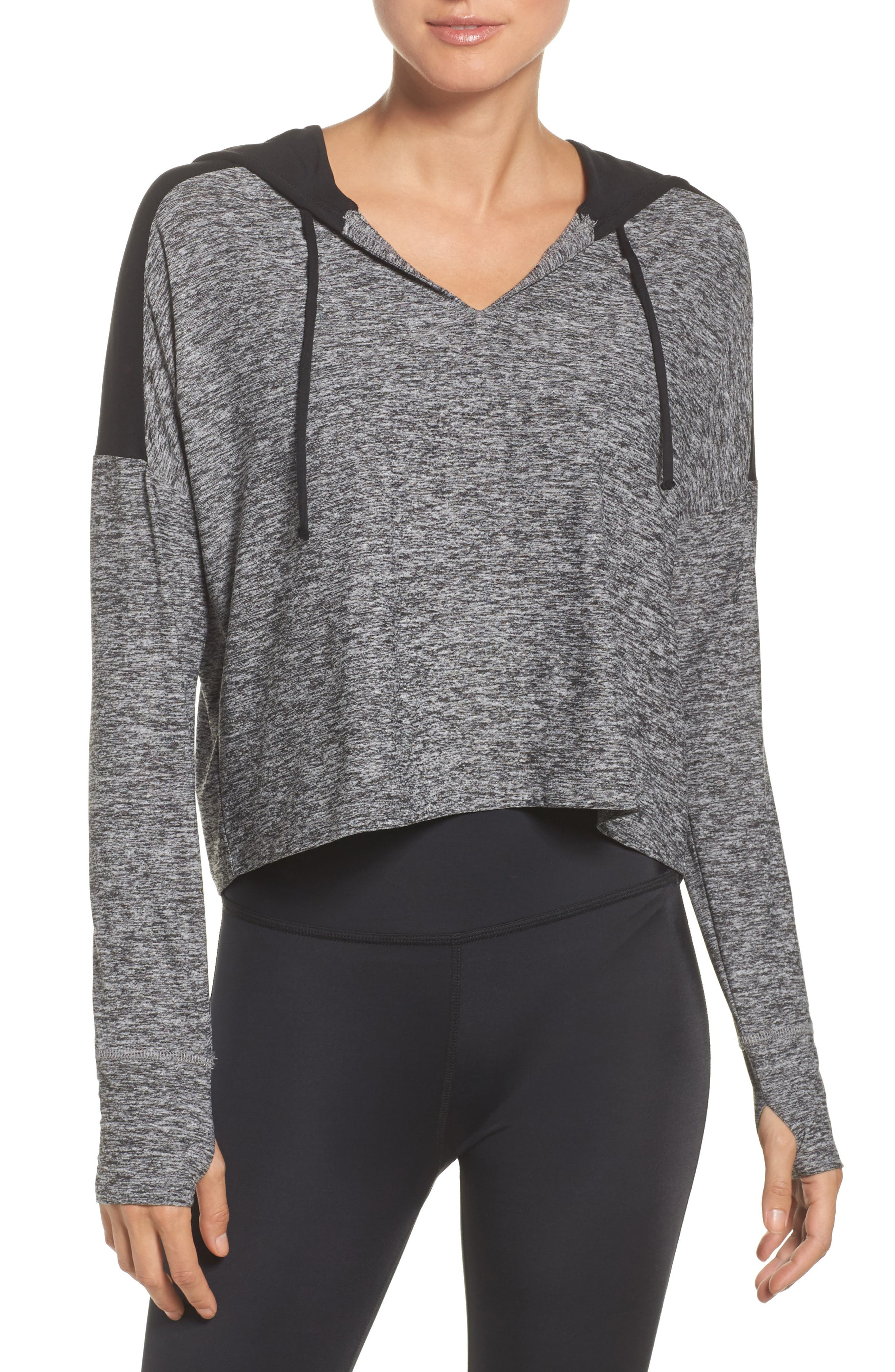 Cut & Run Crop Hoodie,                         Main,                         color,