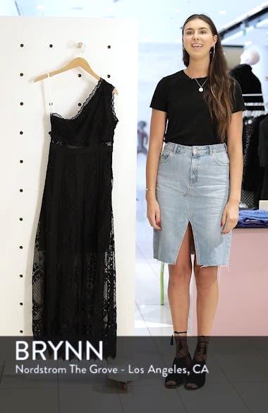 Juliet One-Shoulder Lace Gown, sales video thumbnail