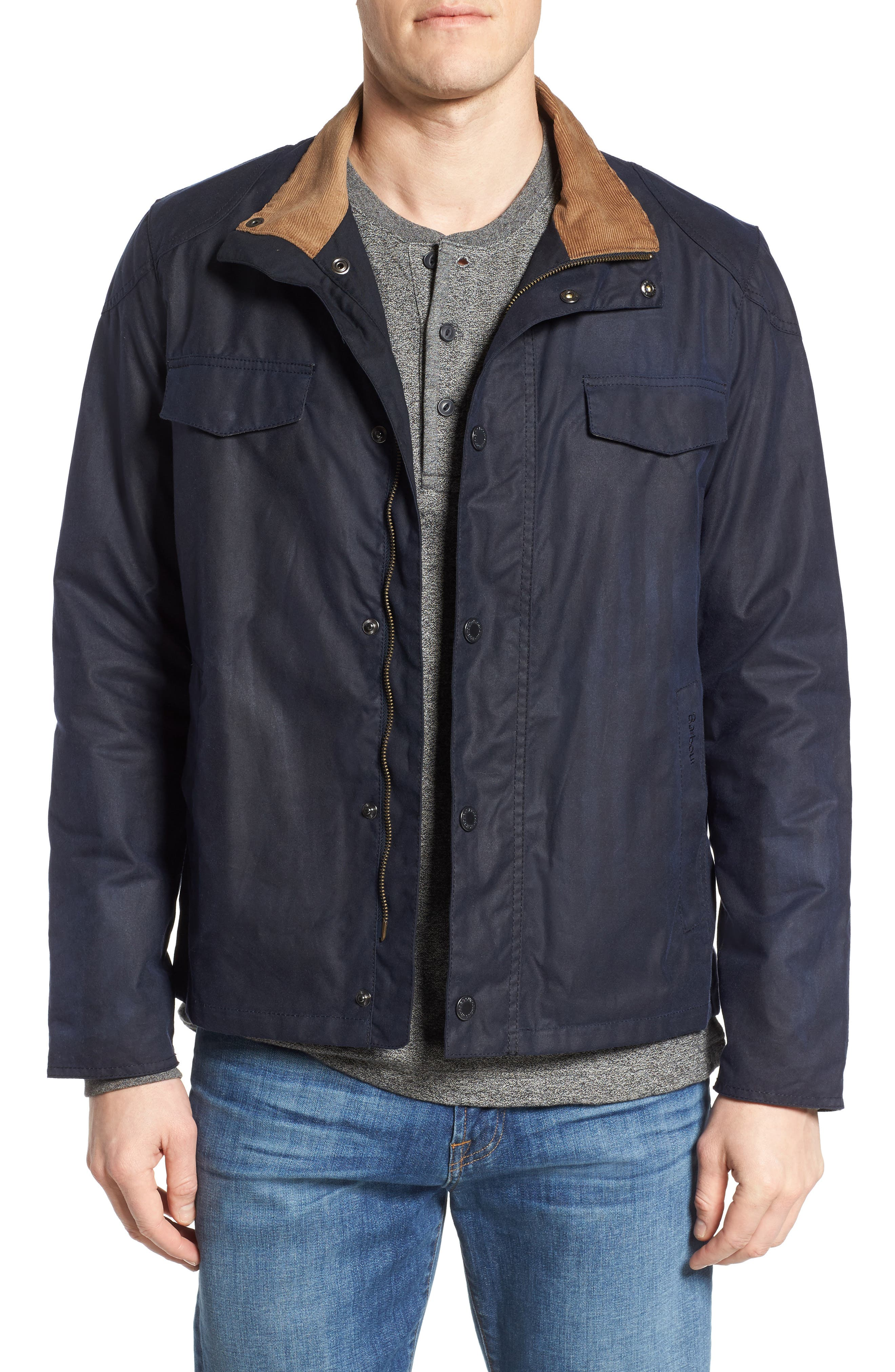 Lomond Waxed Cotton Jacket,                             Main thumbnail 1, color,                             410
