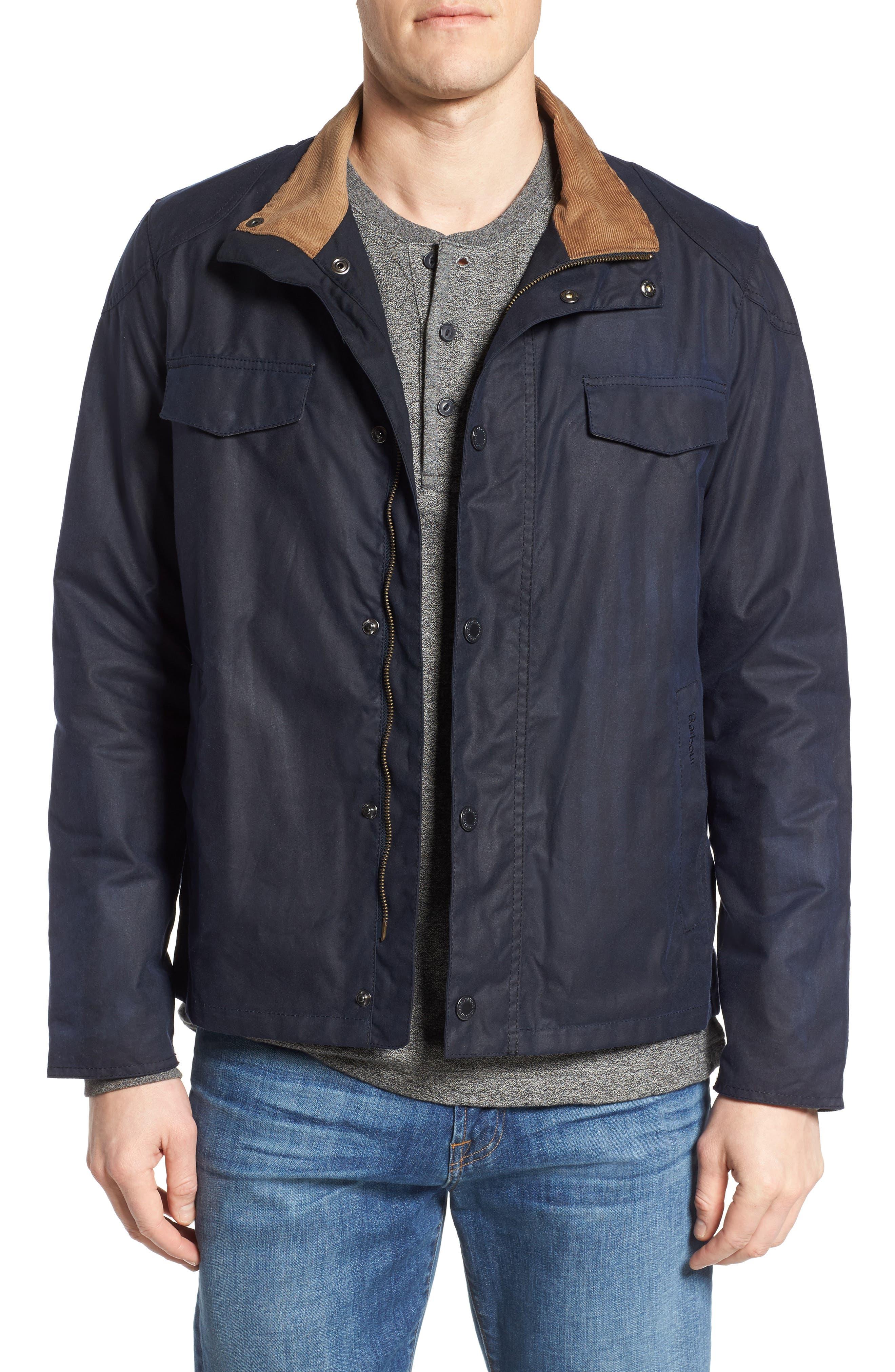 Lomond Waxed Cotton Jacket, Main, color, 410