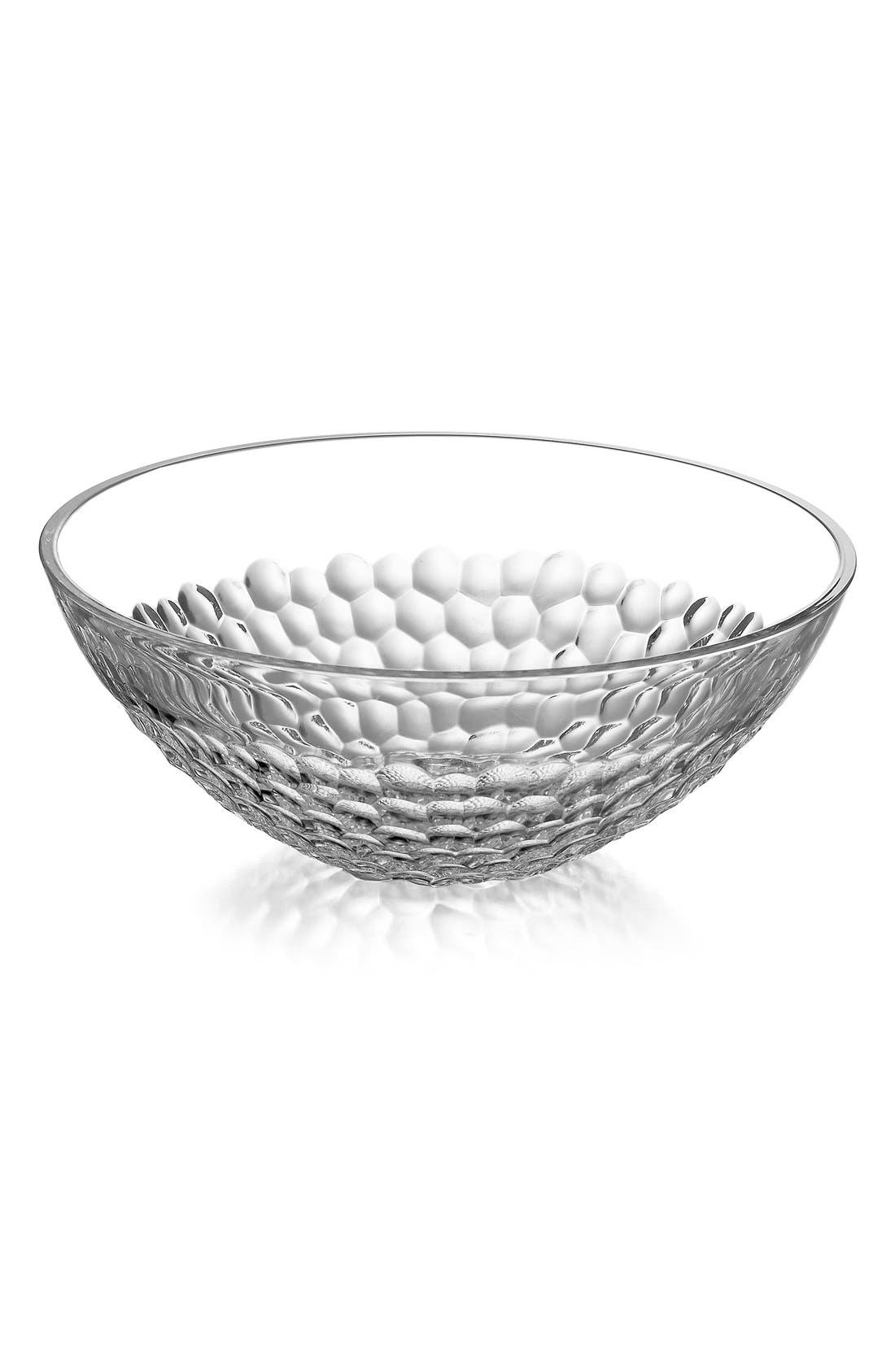 'Pearl' Lead Crystal Serving Bowl,                             Alternate thumbnail 2, color,                             100