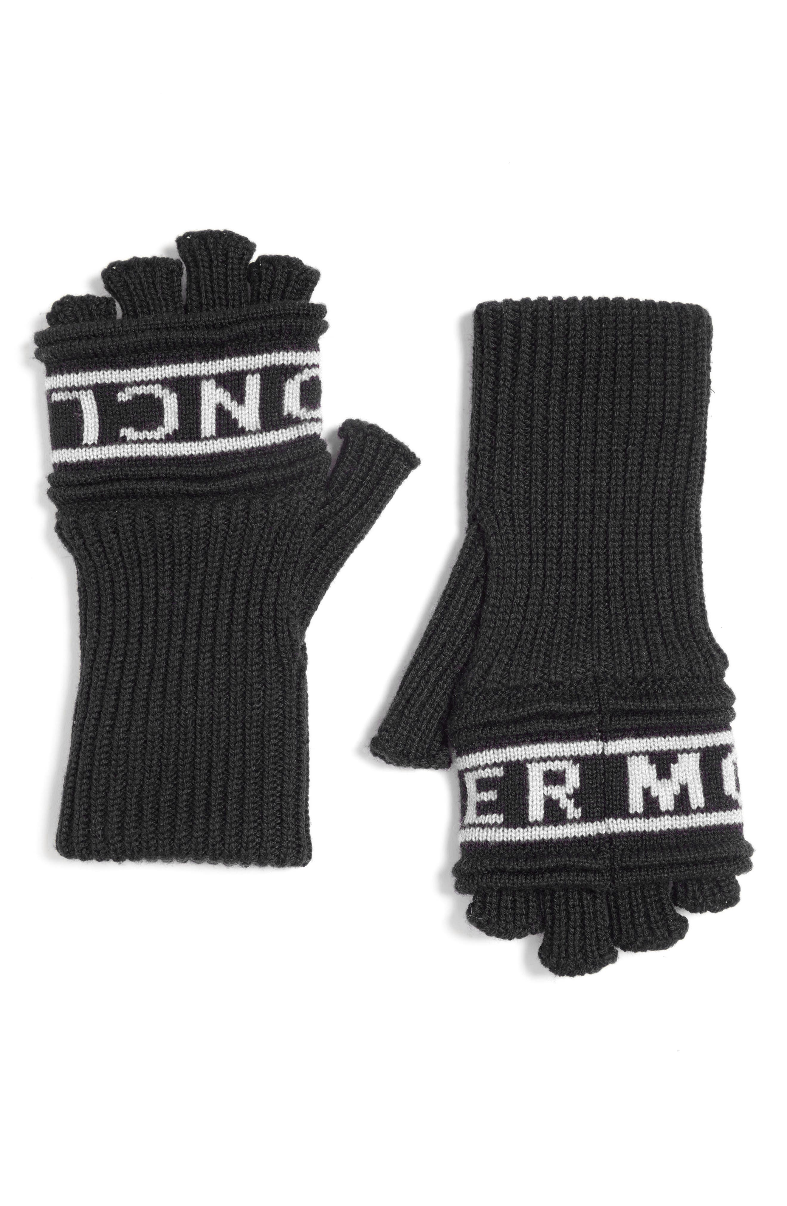 Guanti Wool Long Fingerless Gloves,                         Main,                         color,