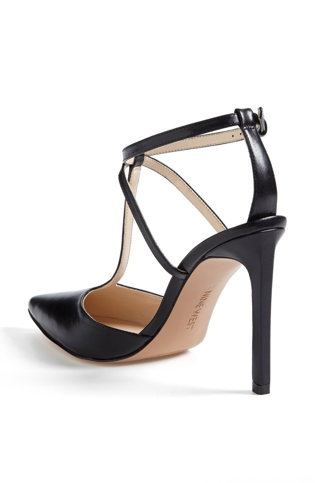 NINE WEST,                             'Tixilated' Pump,                             Alternate thumbnail 2, color,                             001