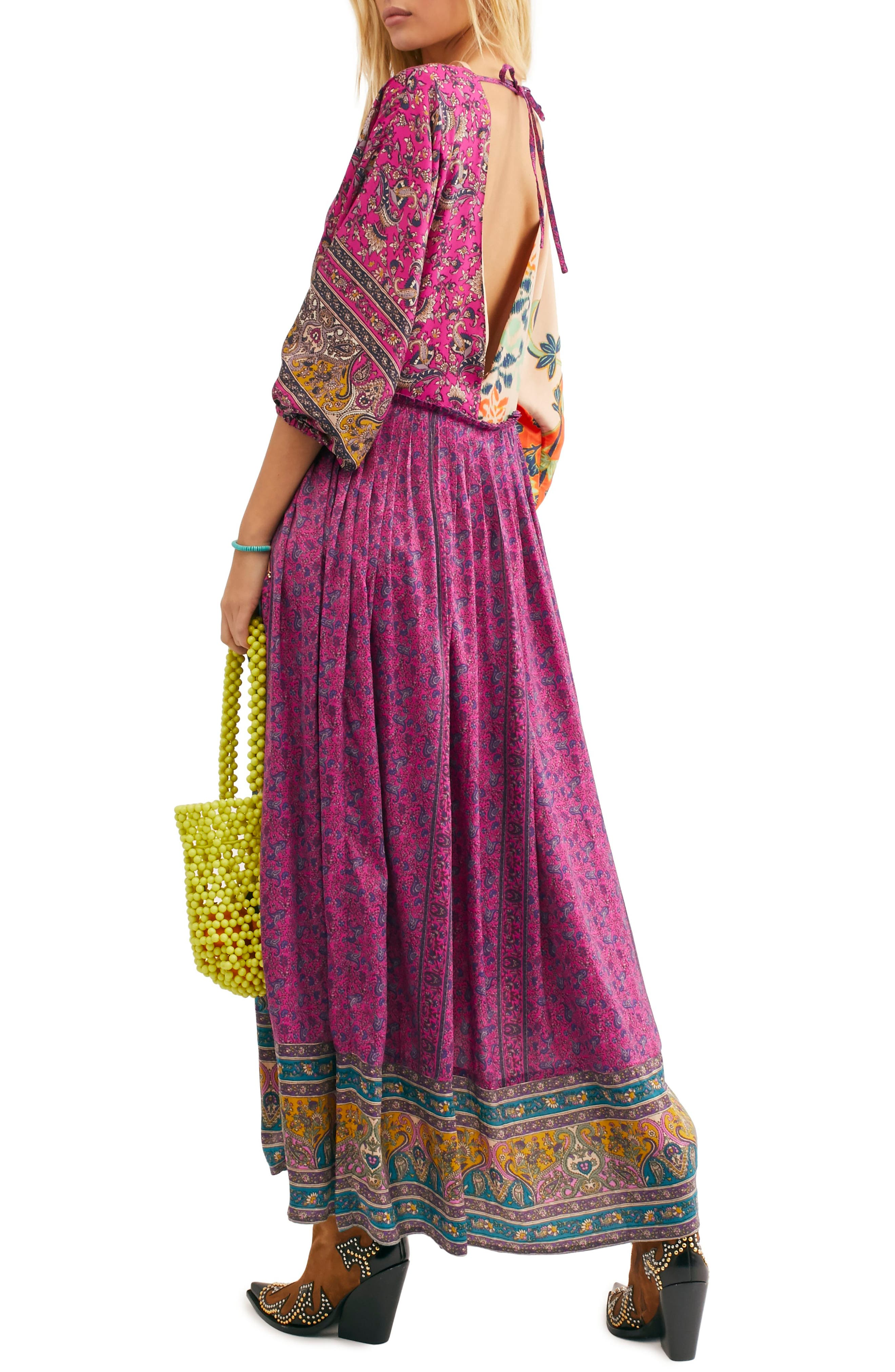 FREE PEOPLE,                             What You Want Maxi Dress,                             Alternate thumbnail 2, color,                             MULTI