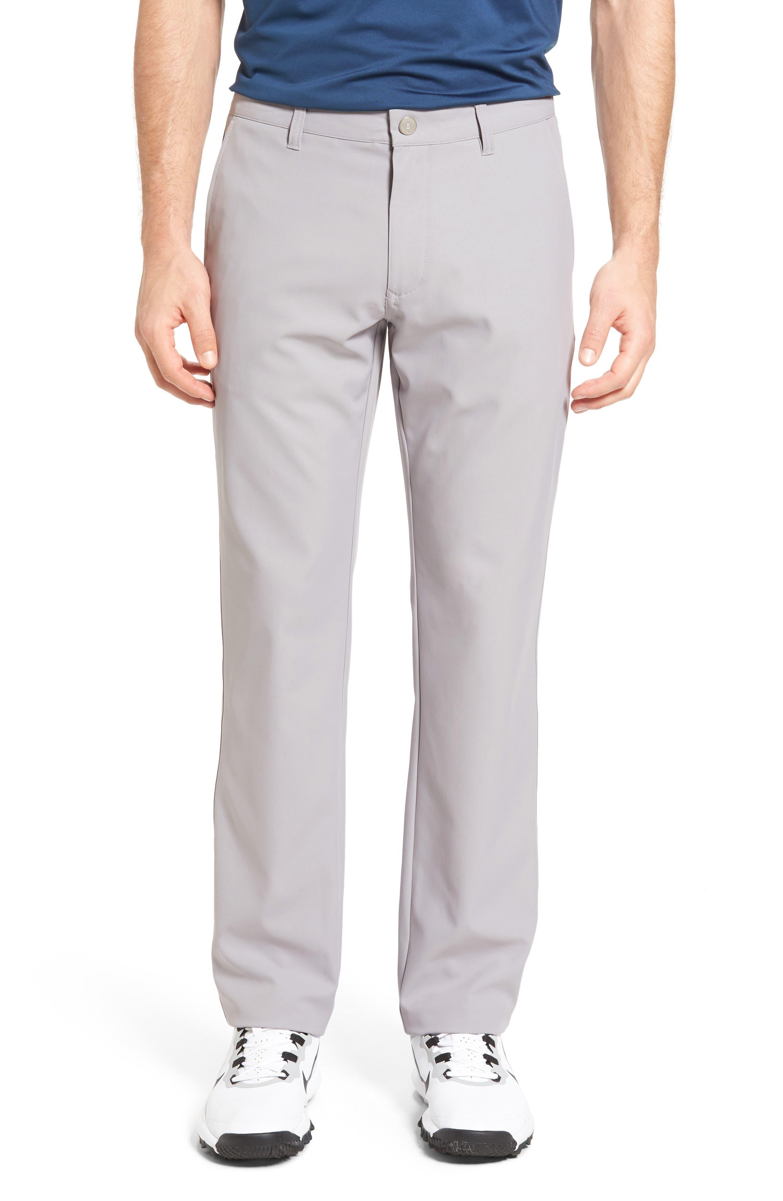 Highland Slim Fit Golf Pants,                             Main thumbnail 1, color,                             LIGHT GREY