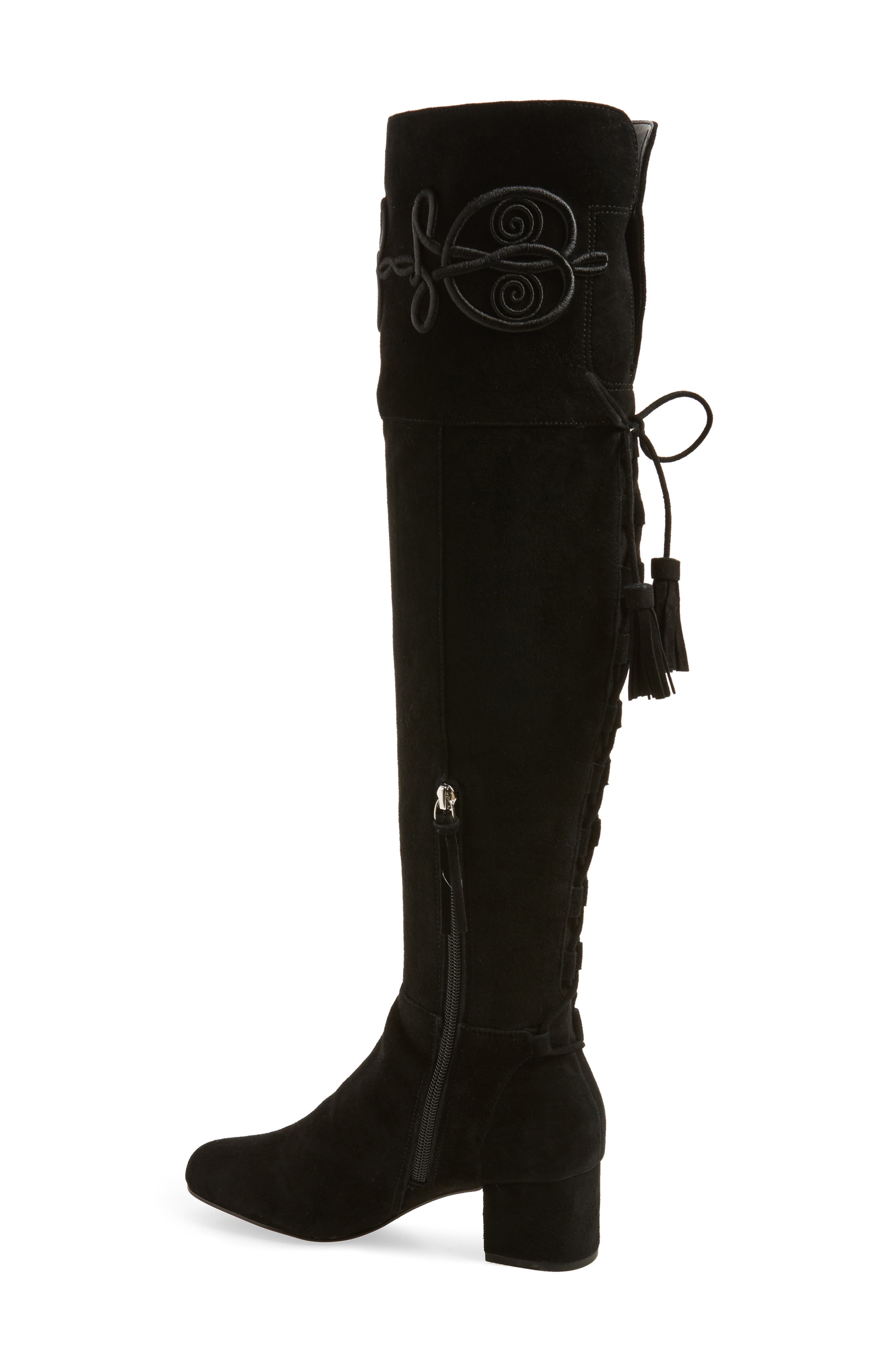 Shiloh Over the Knee Boot,                             Alternate thumbnail 2, color,                             004