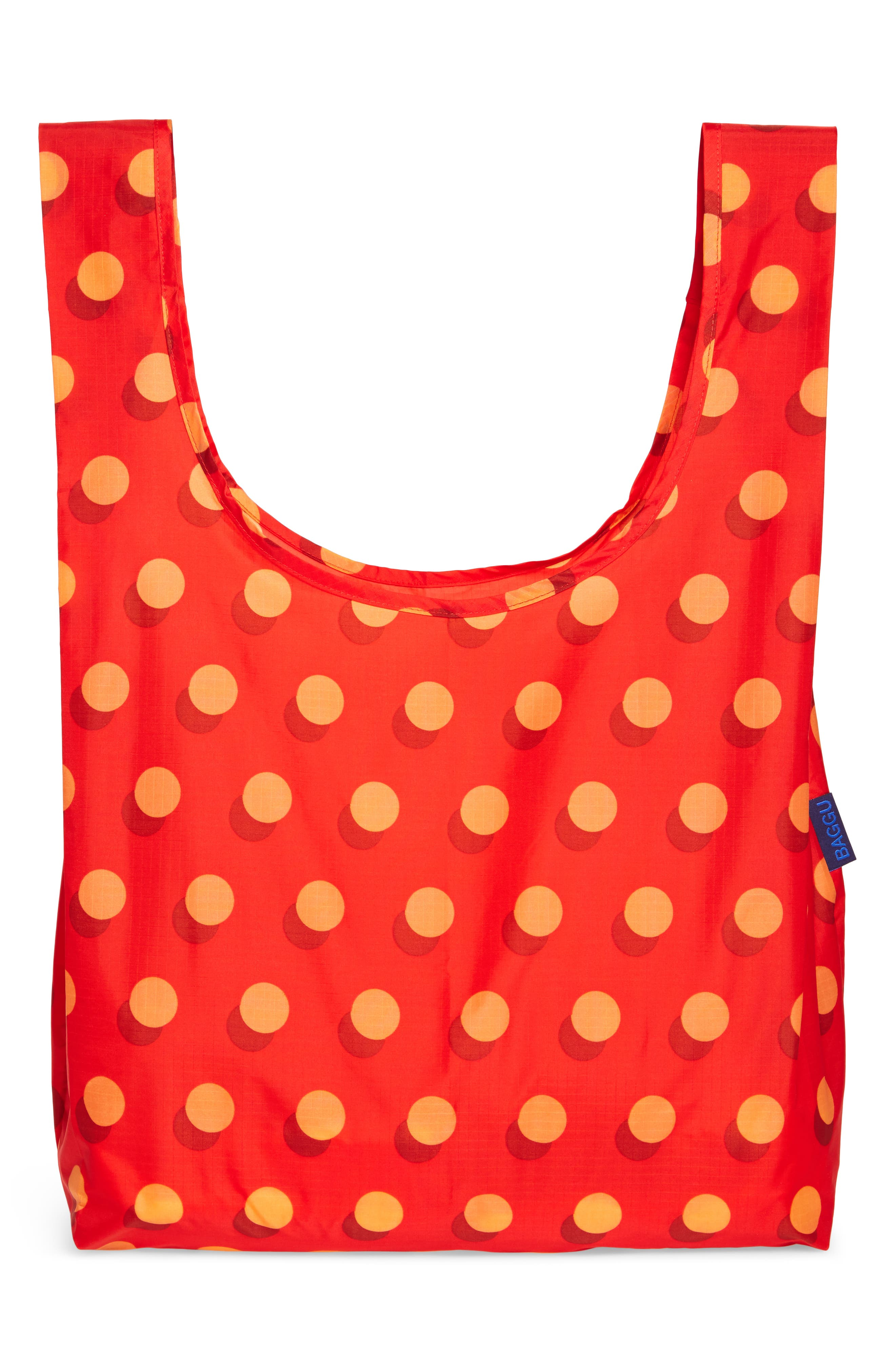 Disco Dot Set of 3 Nylon Totes,                             Alternate thumbnail 3, color,                             600