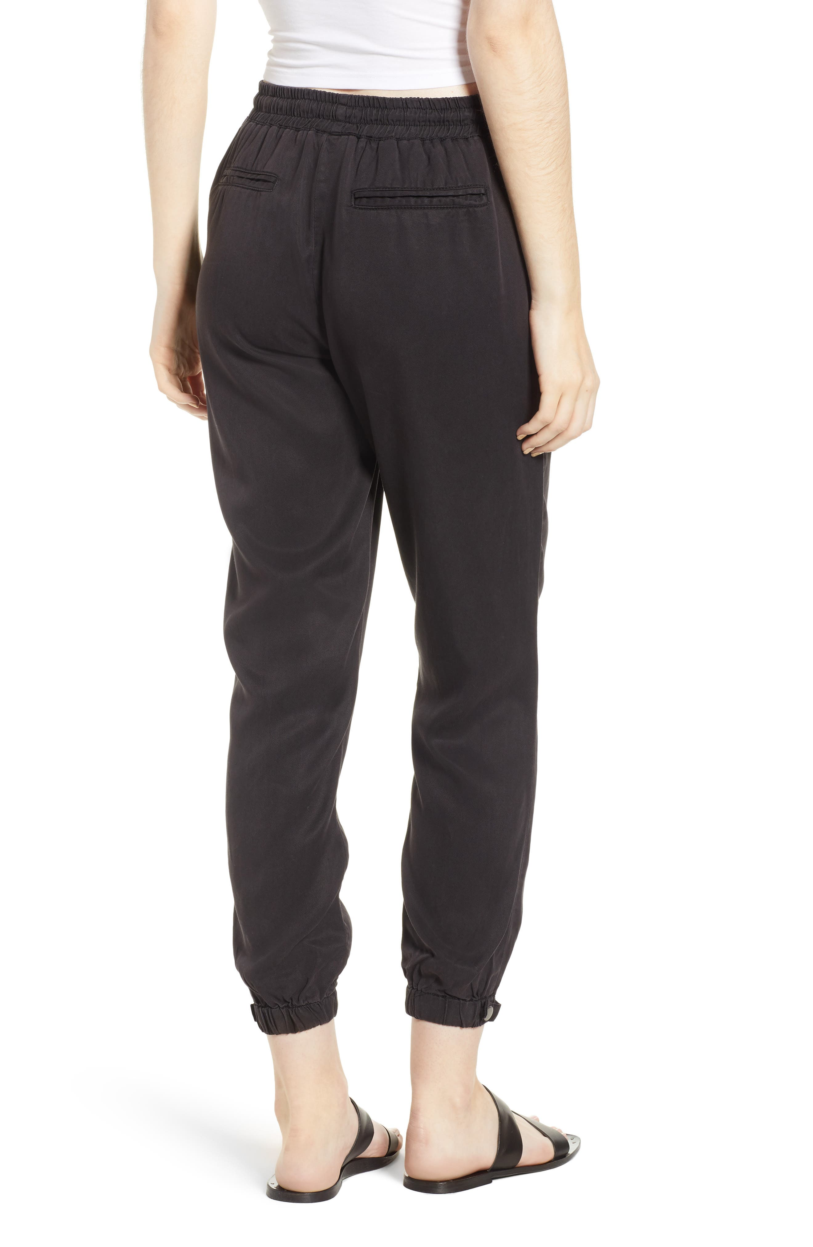 THREAD & SUPPLY,                             Serena Joggers,                             Alternate thumbnail 2, color,                             001