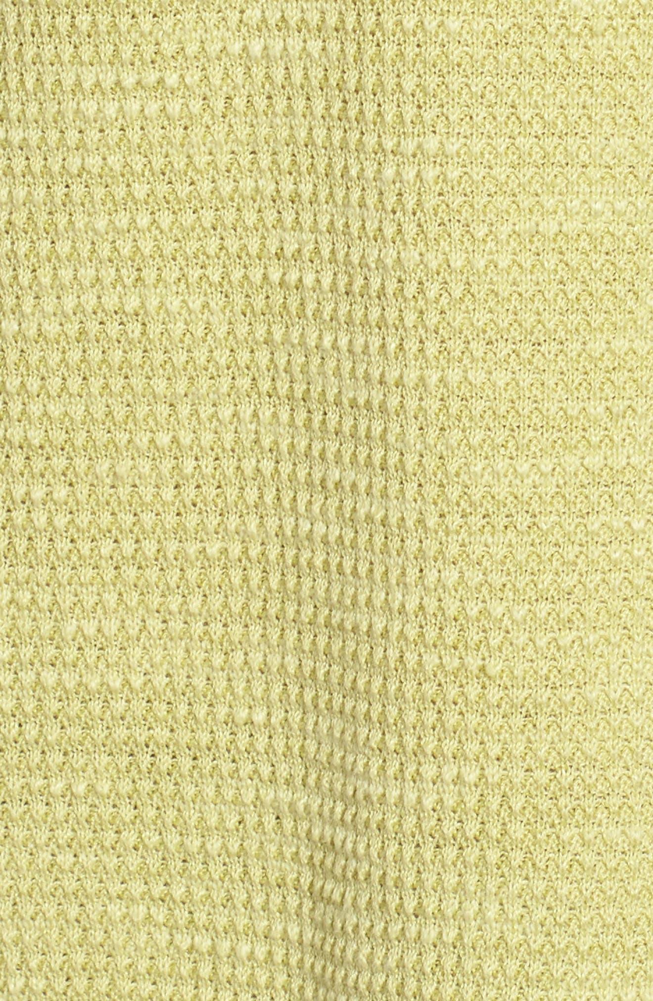 Drawstring Neck Organic Linen & Cotton Top,                             Alternate thumbnail 14, color,