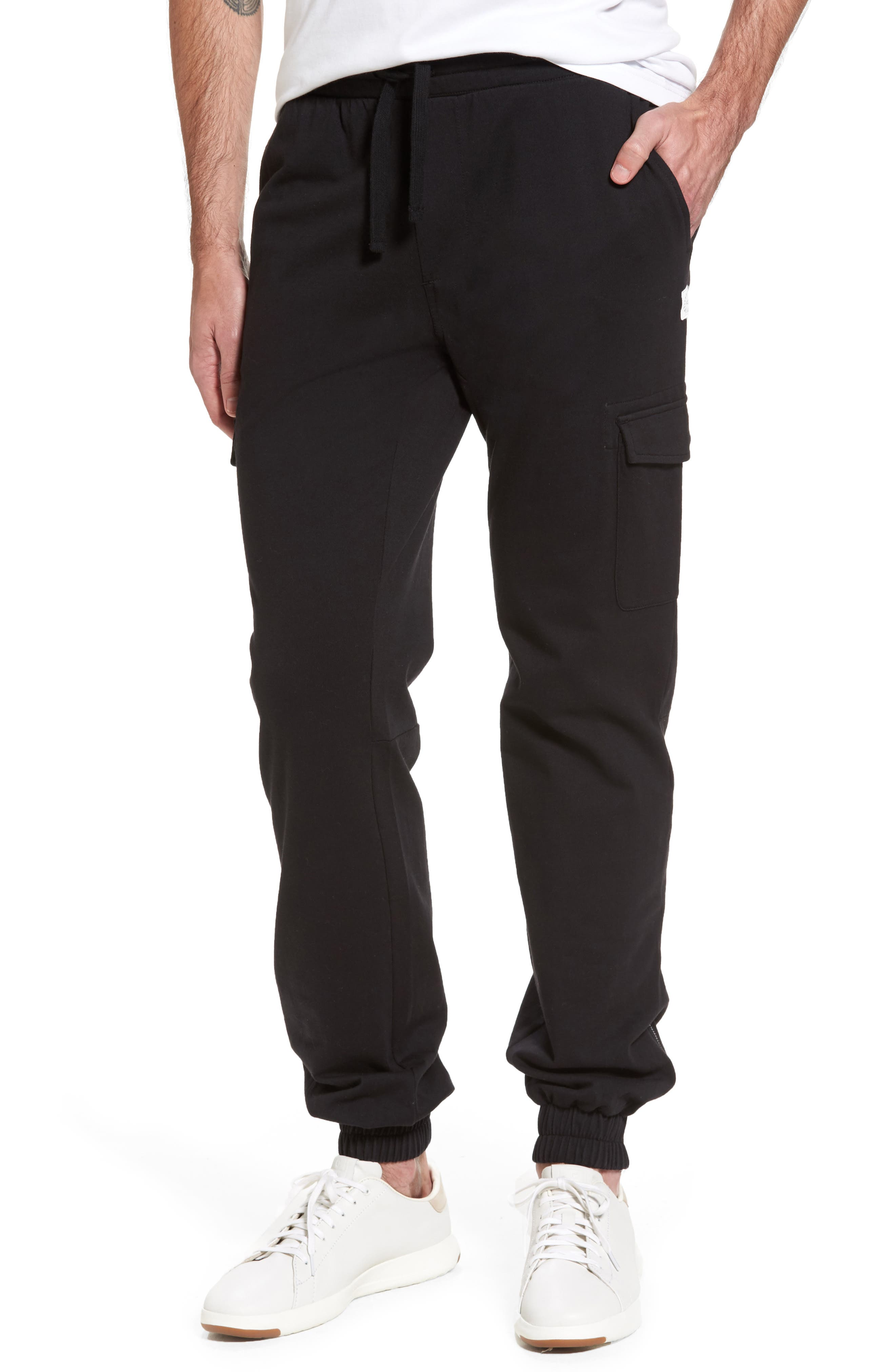 Jersey Cargo Pants,                         Main,                         color,