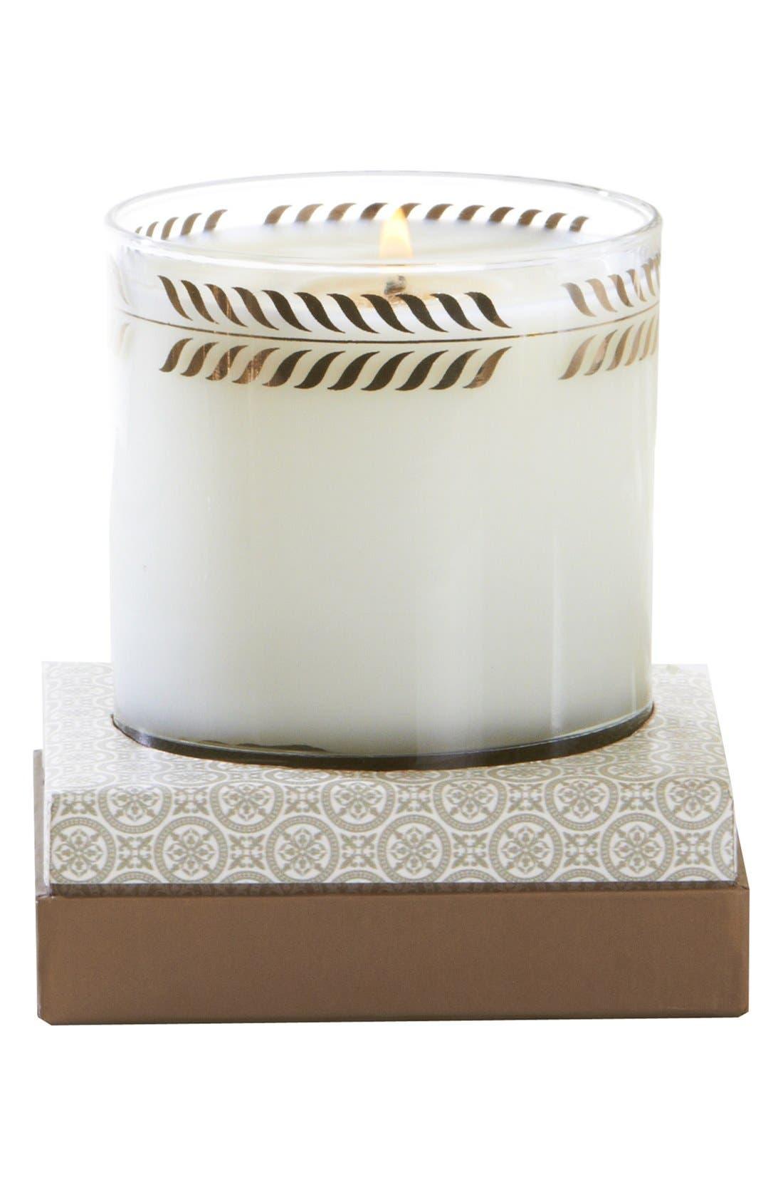 Bergamot & Ocean Aria Candle,                             Alternate thumbnail 3, color,                             000