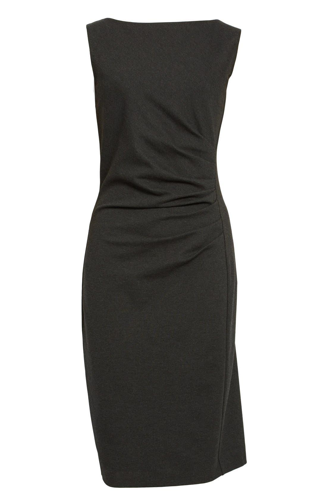 'Aligi' Sleeveless Jersey Sheath Dress,                             Alternate thumbnail 2, color,                             023