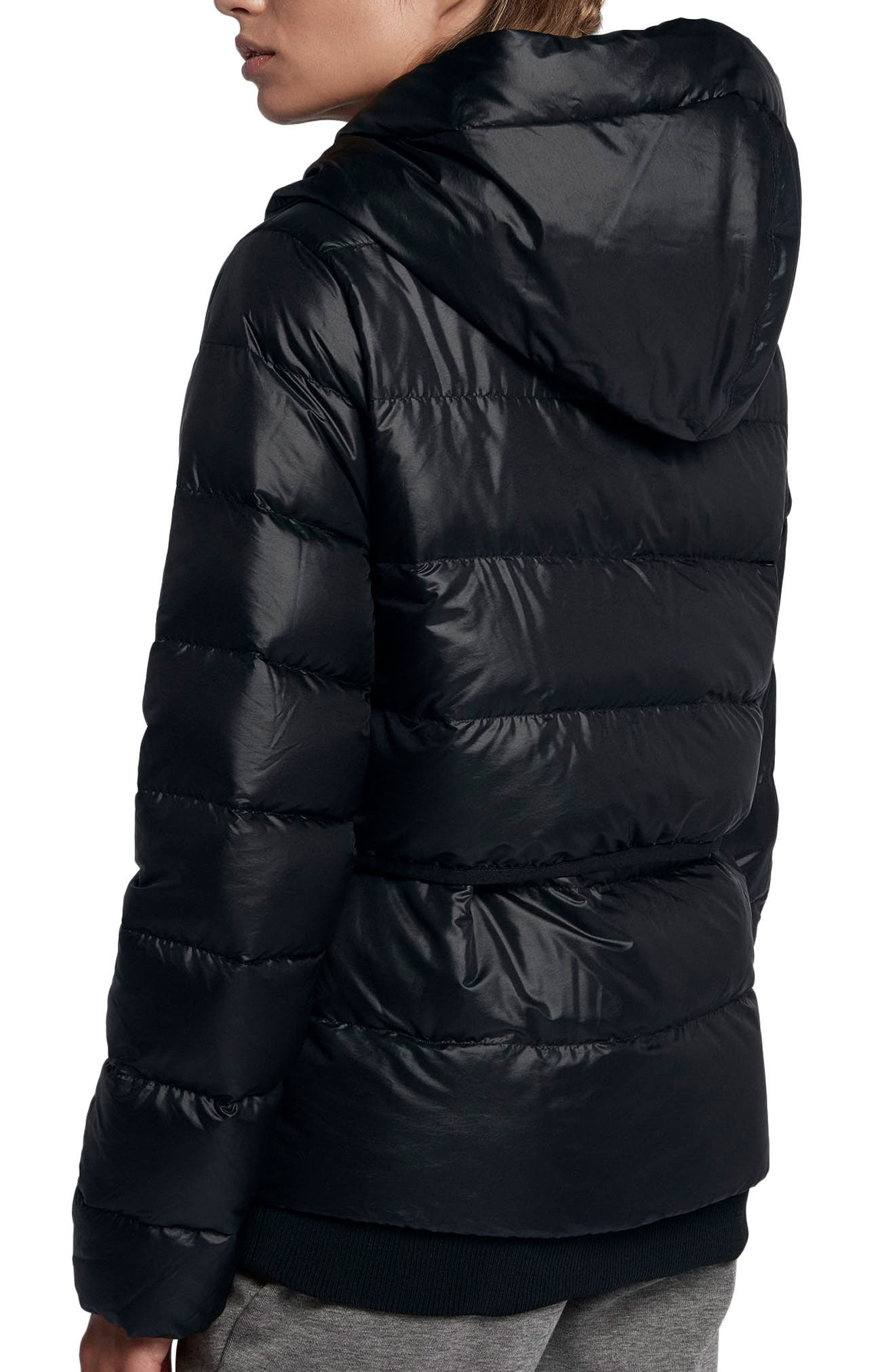 Sportswear Women's Hooded Down Jacket,                             Alternate thumbnail 2, color,                             010