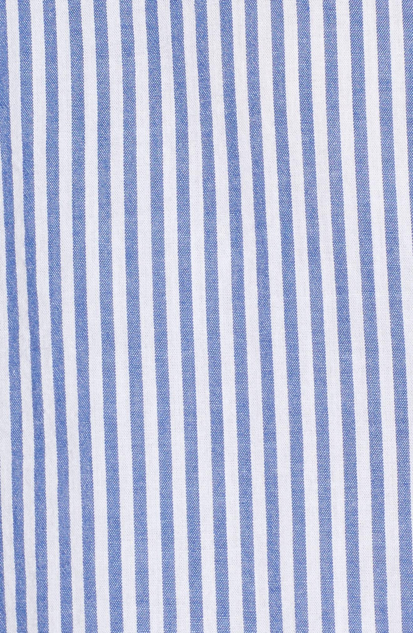 Astrid Tie Cuff Shirt,                             Alternate thumbnail 5, color,                             402