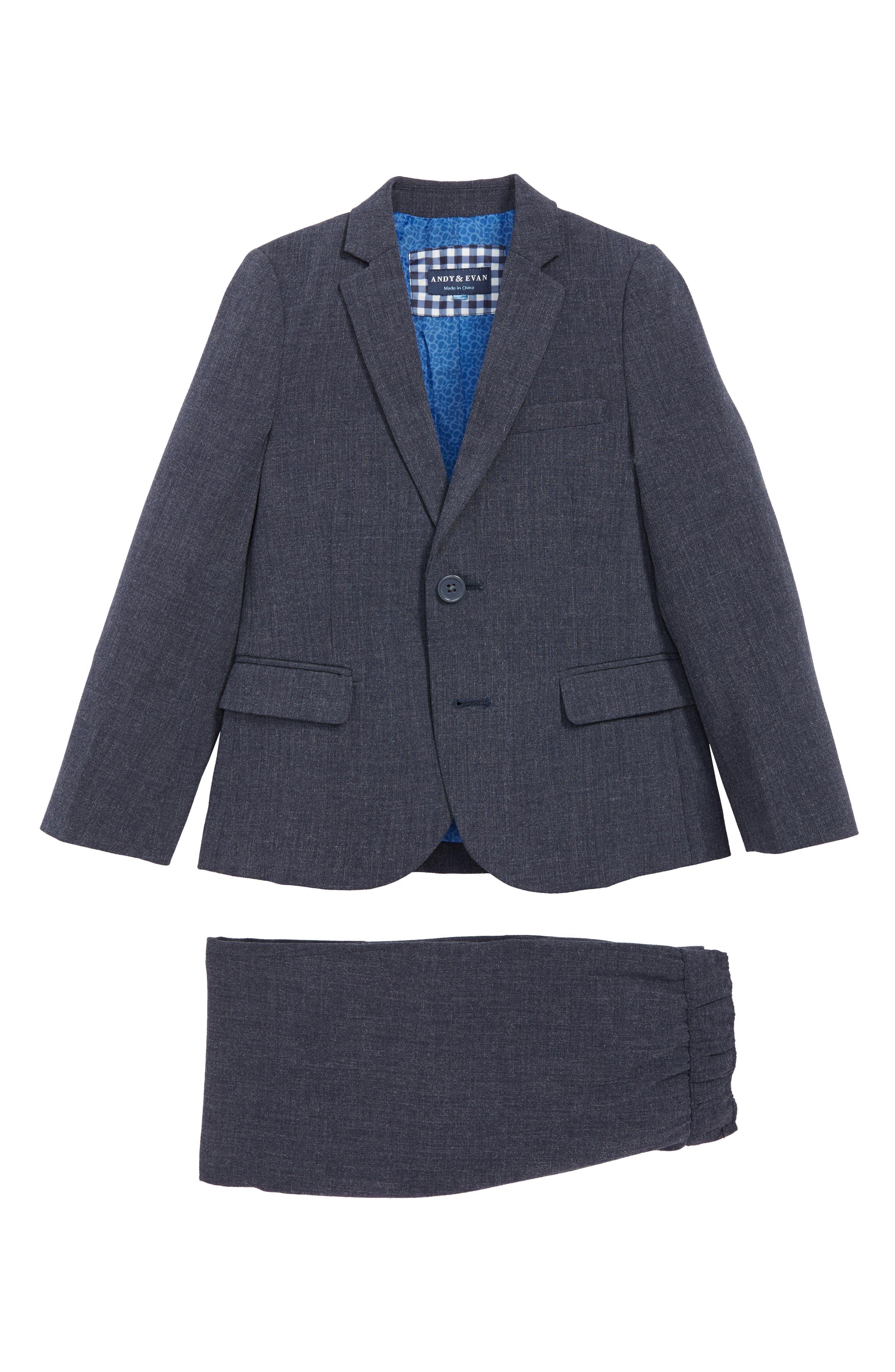 Suit,                         Main,                         color, NAVY