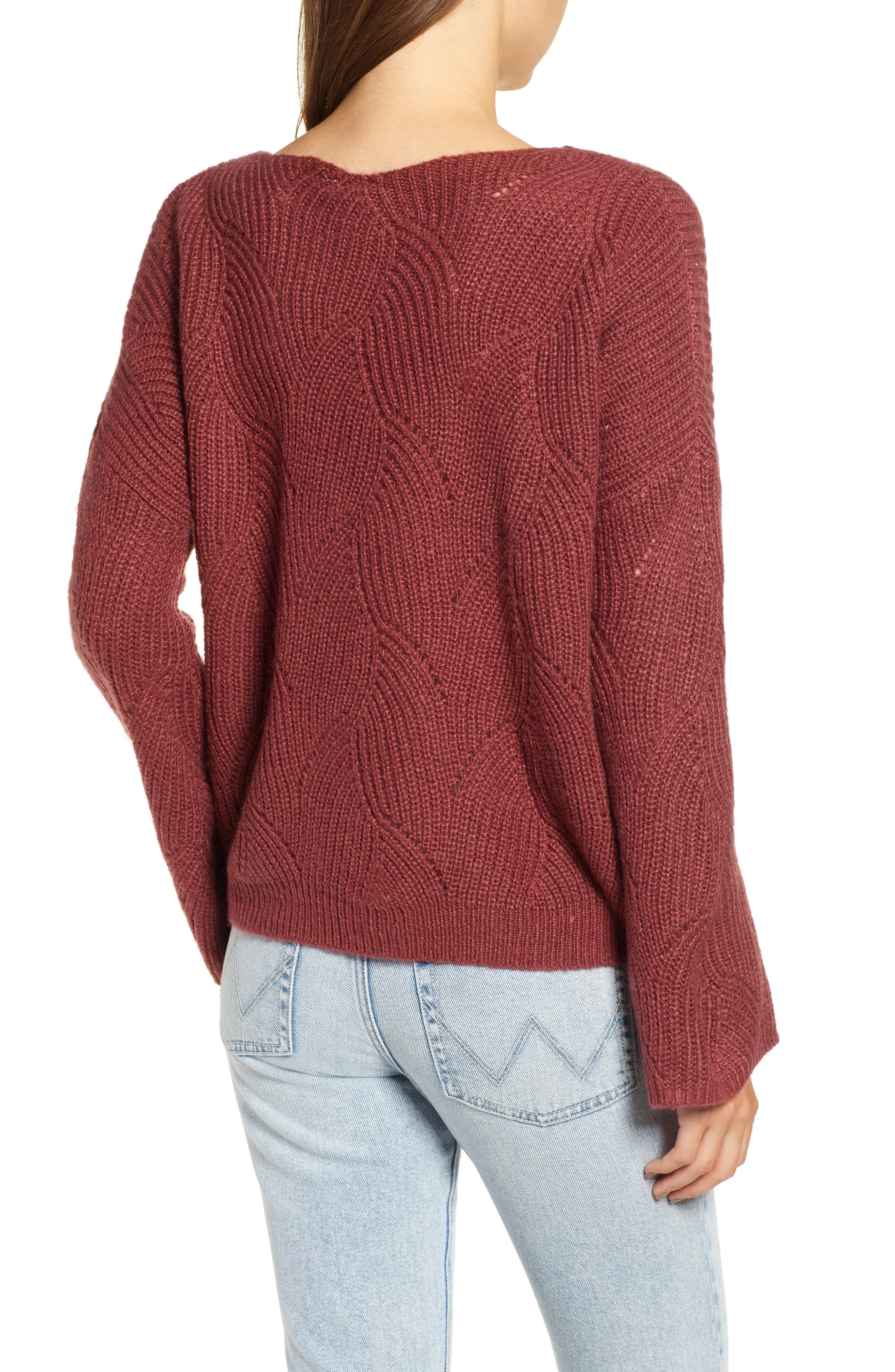 ROXY,                             See You In Bali Sweater,                             Alternate thumbnail 2, color,                             600