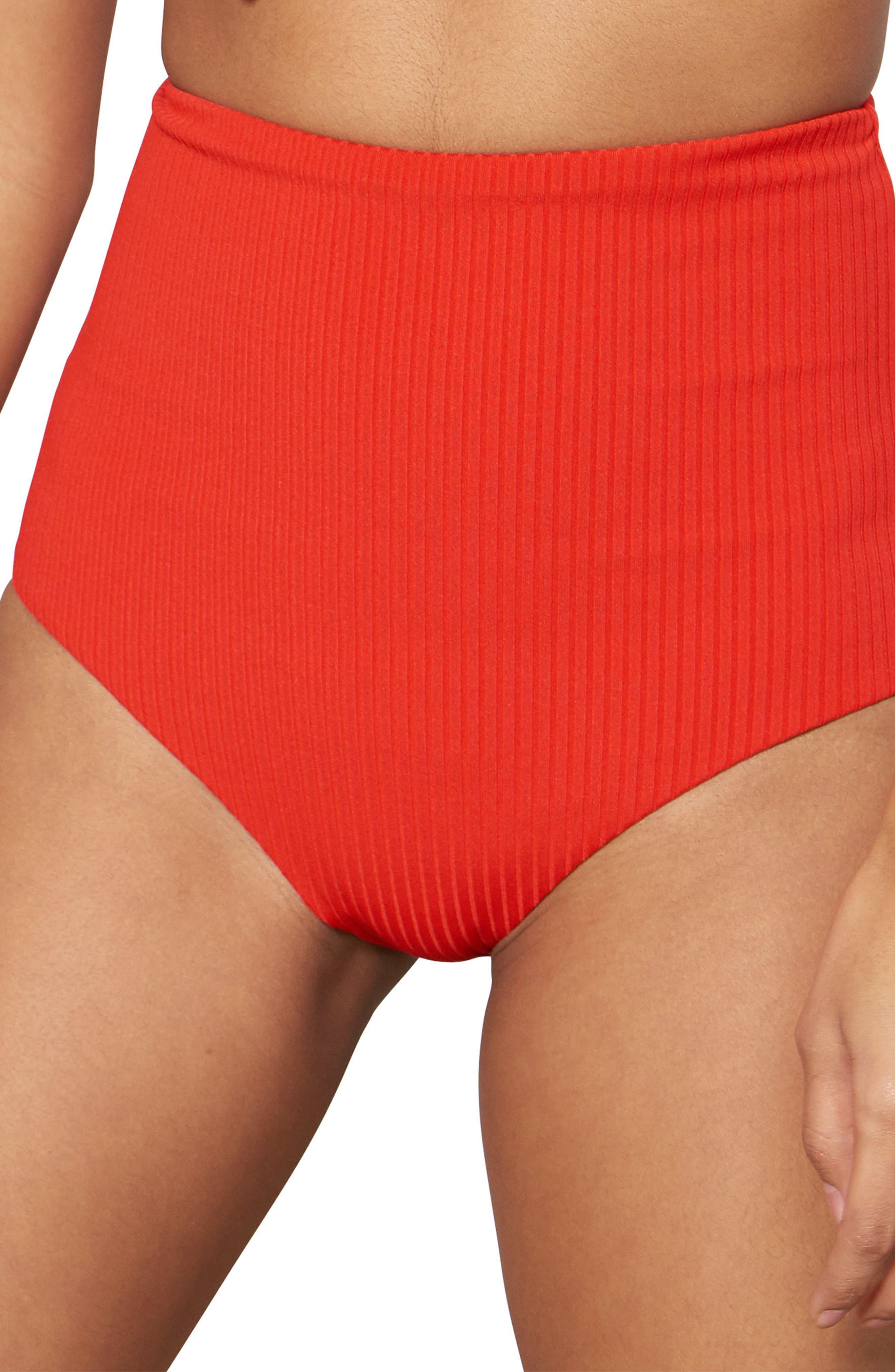 Lydia High Waist Bikini Bottoms,                         Main,                         color,