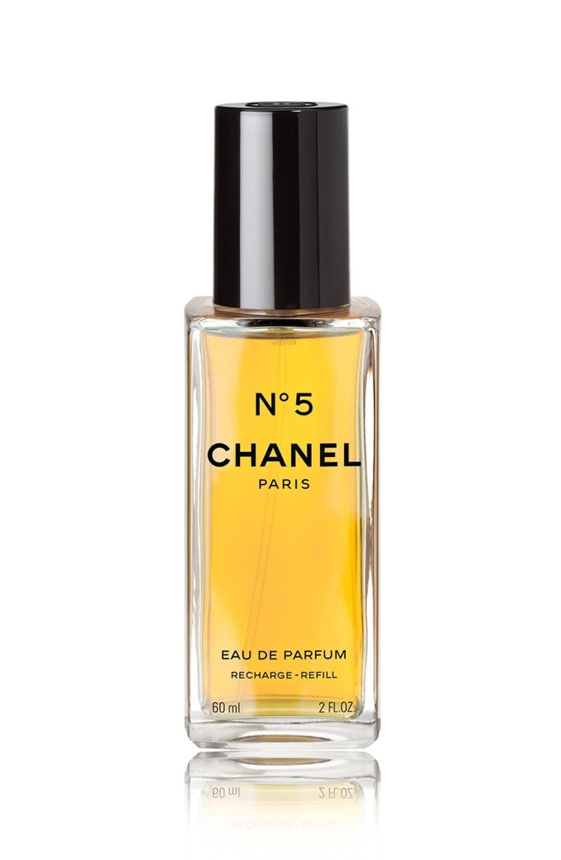 N° 5<br />Eau de Parfum Refillable Spray,                             Alternate thumbnail 2, color,                             000