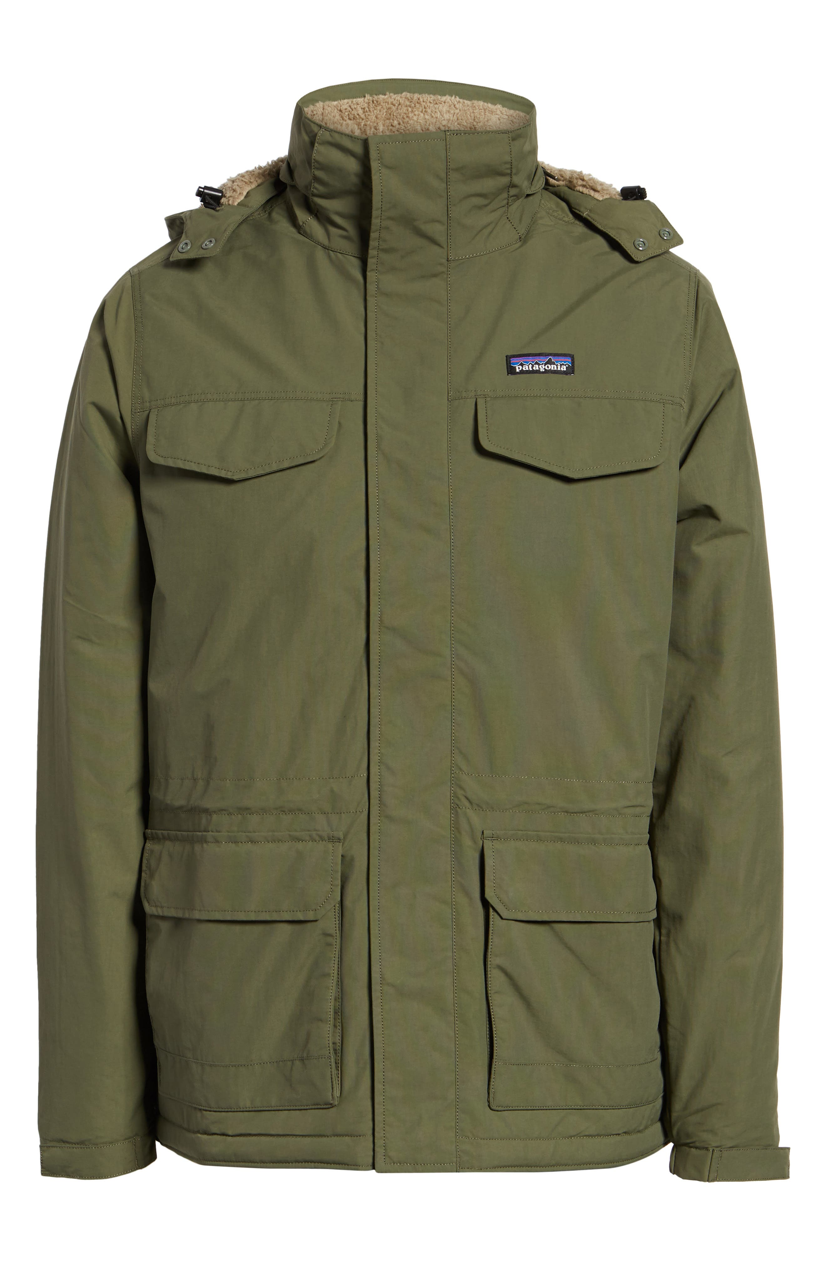 Isthmus Wind Resistant Water Repellent Hooded Parka,                             Alternate thumbnail 6, color,                             302