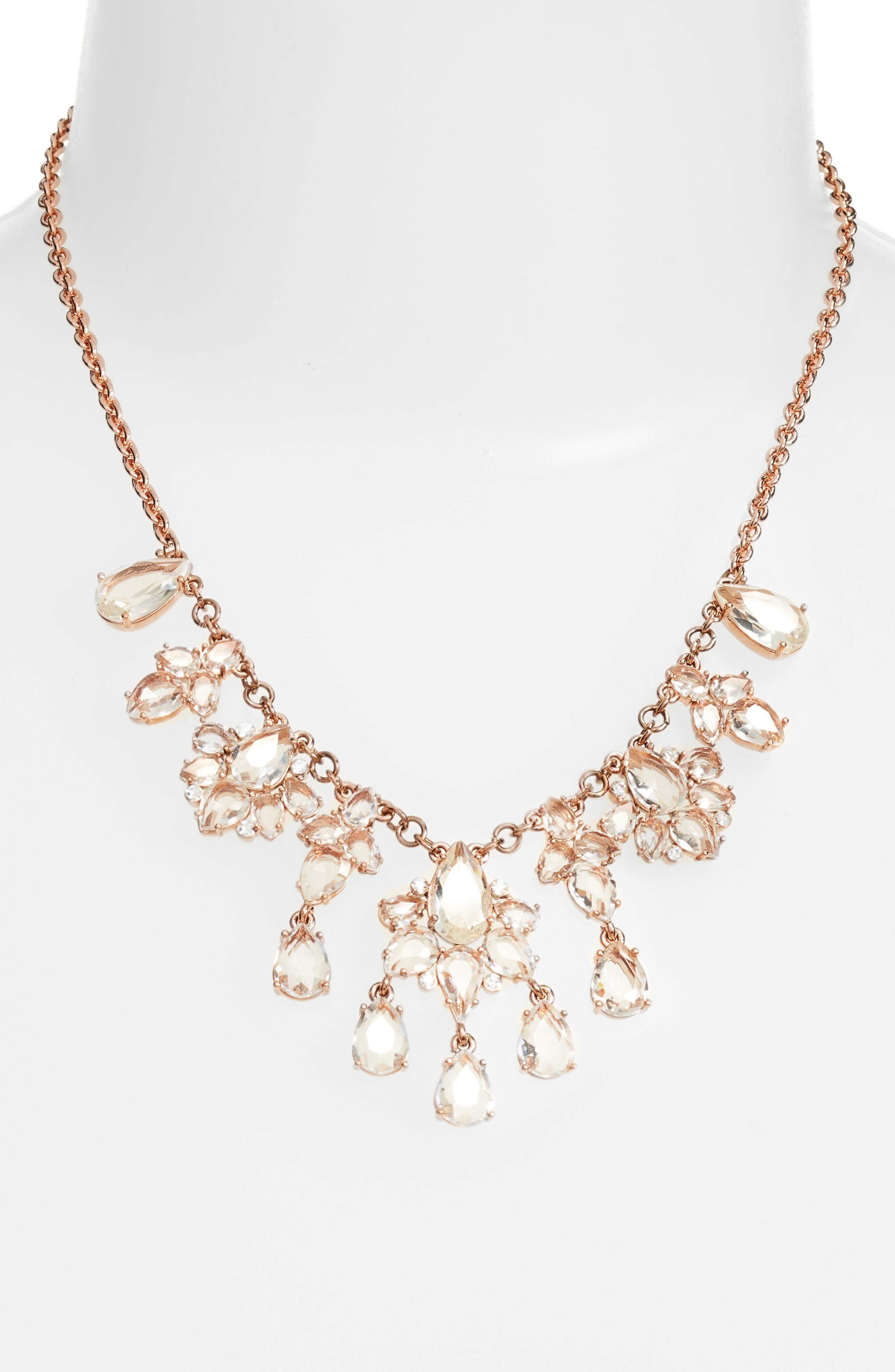 glitzy collar necklace,                             Alternate thumbnail 2, color,                             650