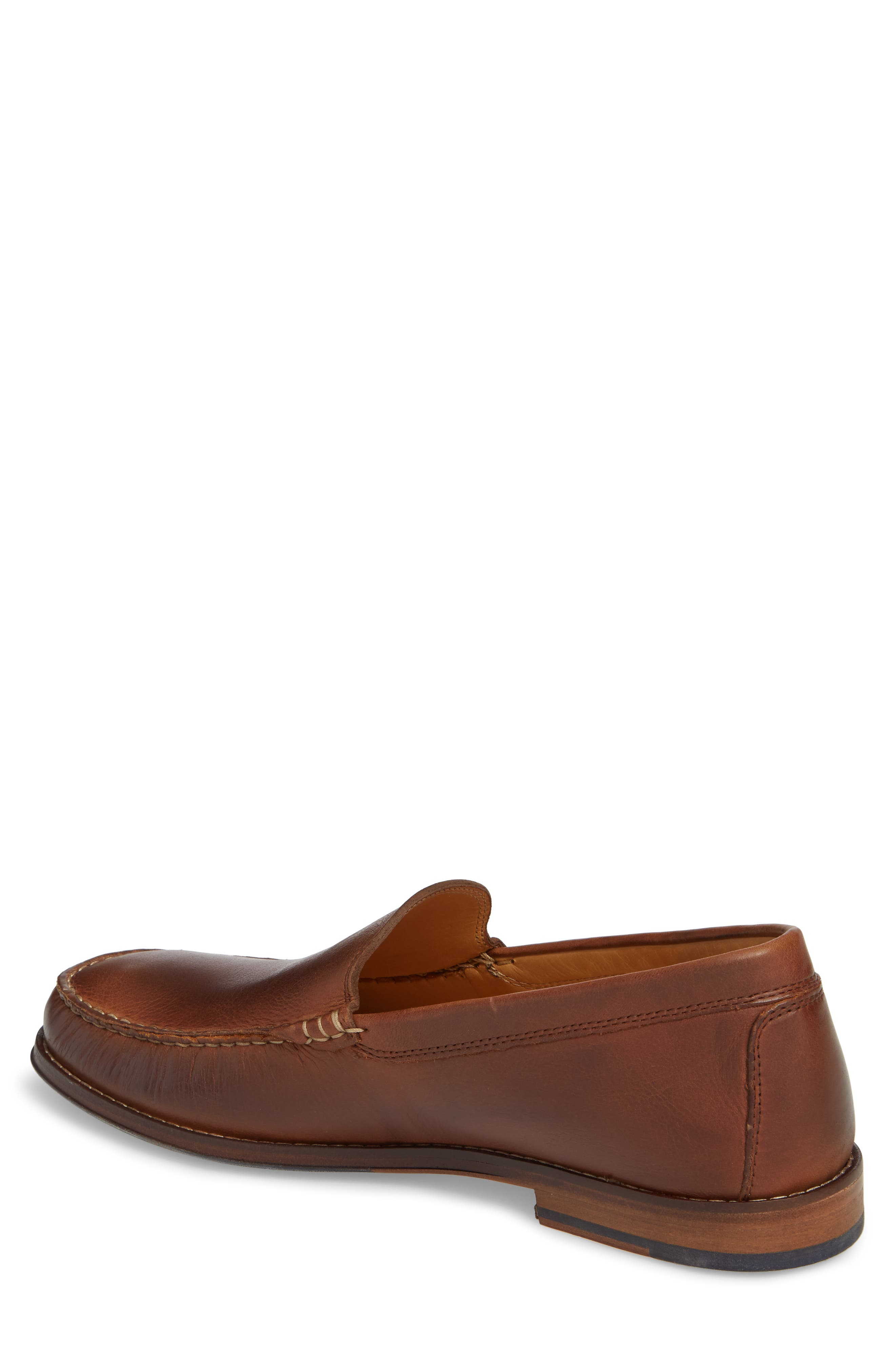 Caldwells Loafer,                             Alternate thumbnail 2, color,                             LIGHT BROWN DISTRESSED LEATHER