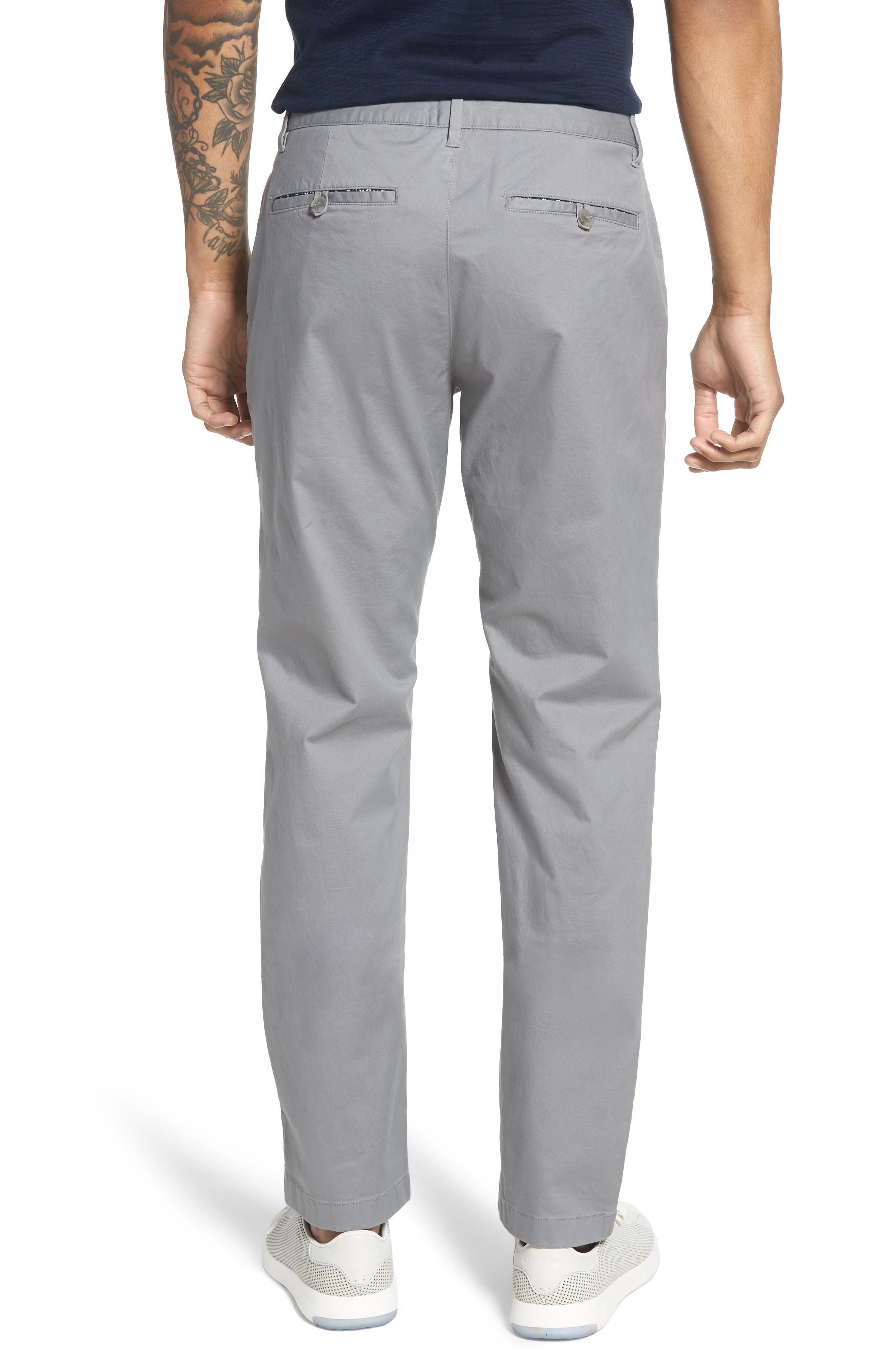 Summer Weight Slim Fit Stretch Chinos,                             Alternate thumbnail 2, color,                             020