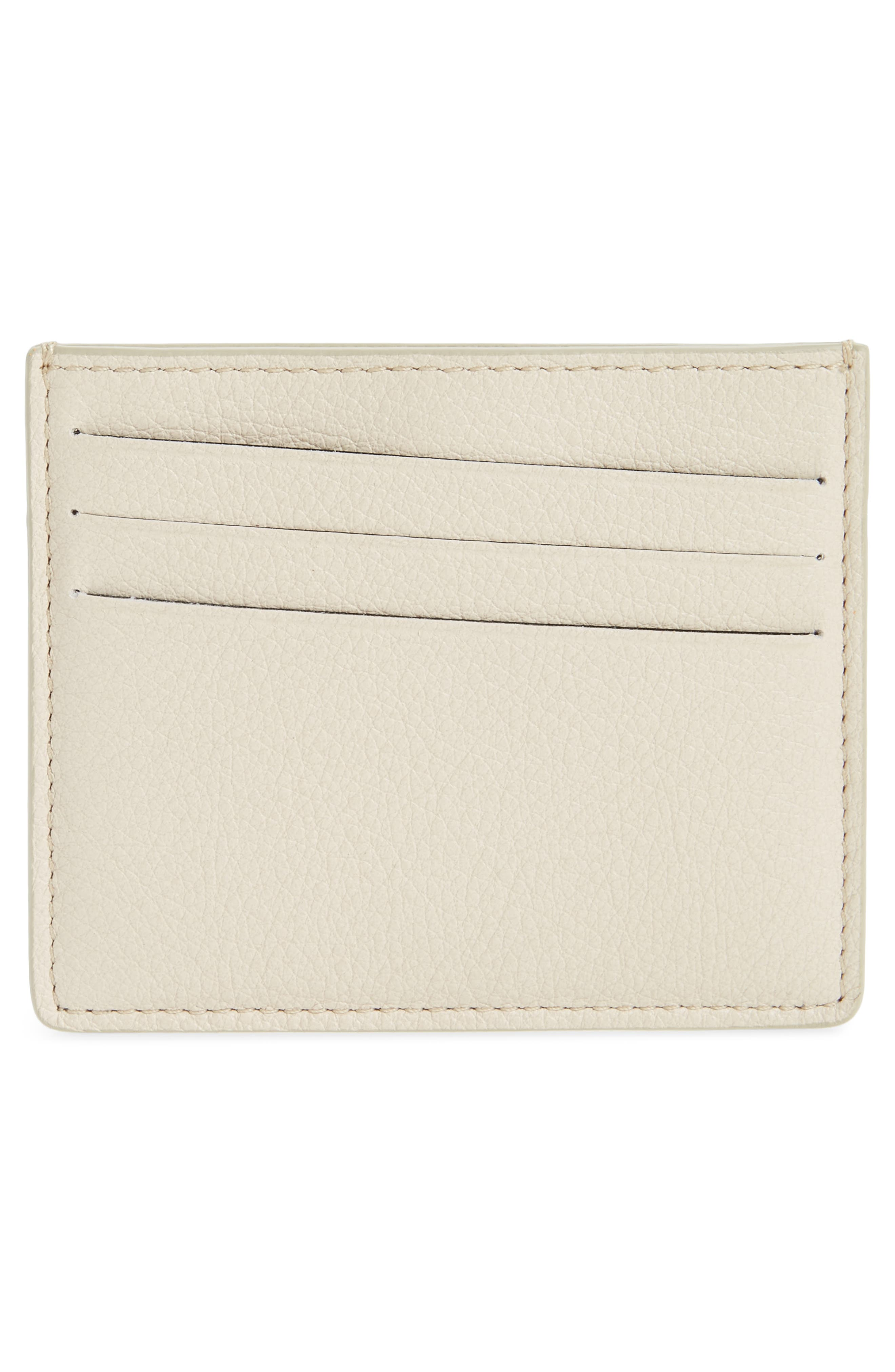 Leather Card Case,                             Alternate thumbnail 2, color,                             100