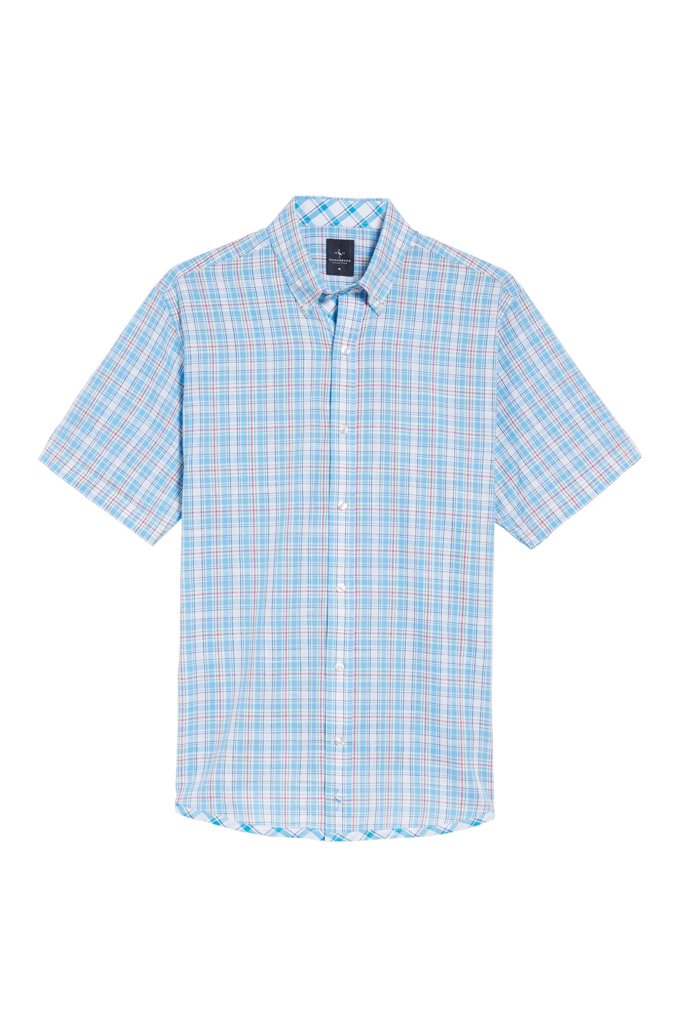 Nectarine Sport Shirt,                             Alternate thumbnail 6, color,