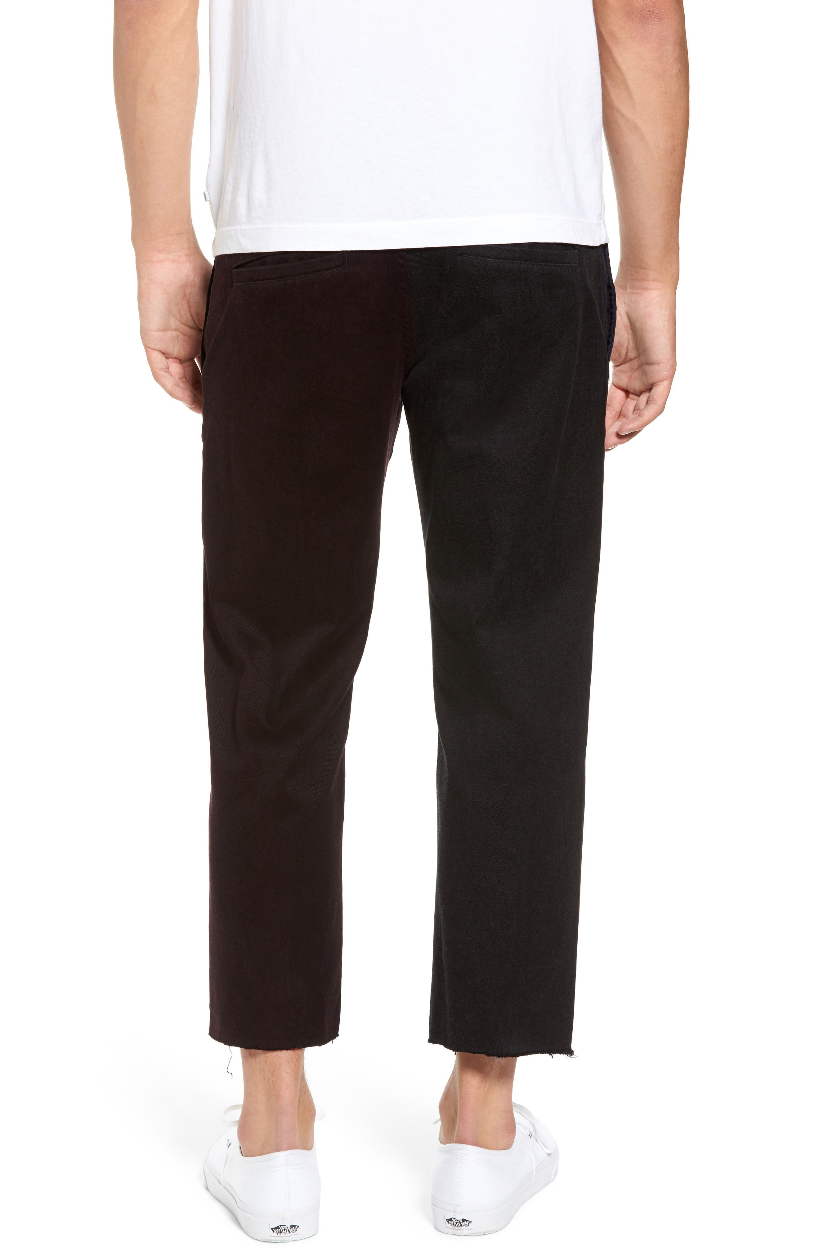 Chodus Crop Boxy Fit Chinos,                             Alternate thumbnail 2, color,                             001