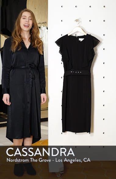 Belted Sheath Dress, sales video thumbnail