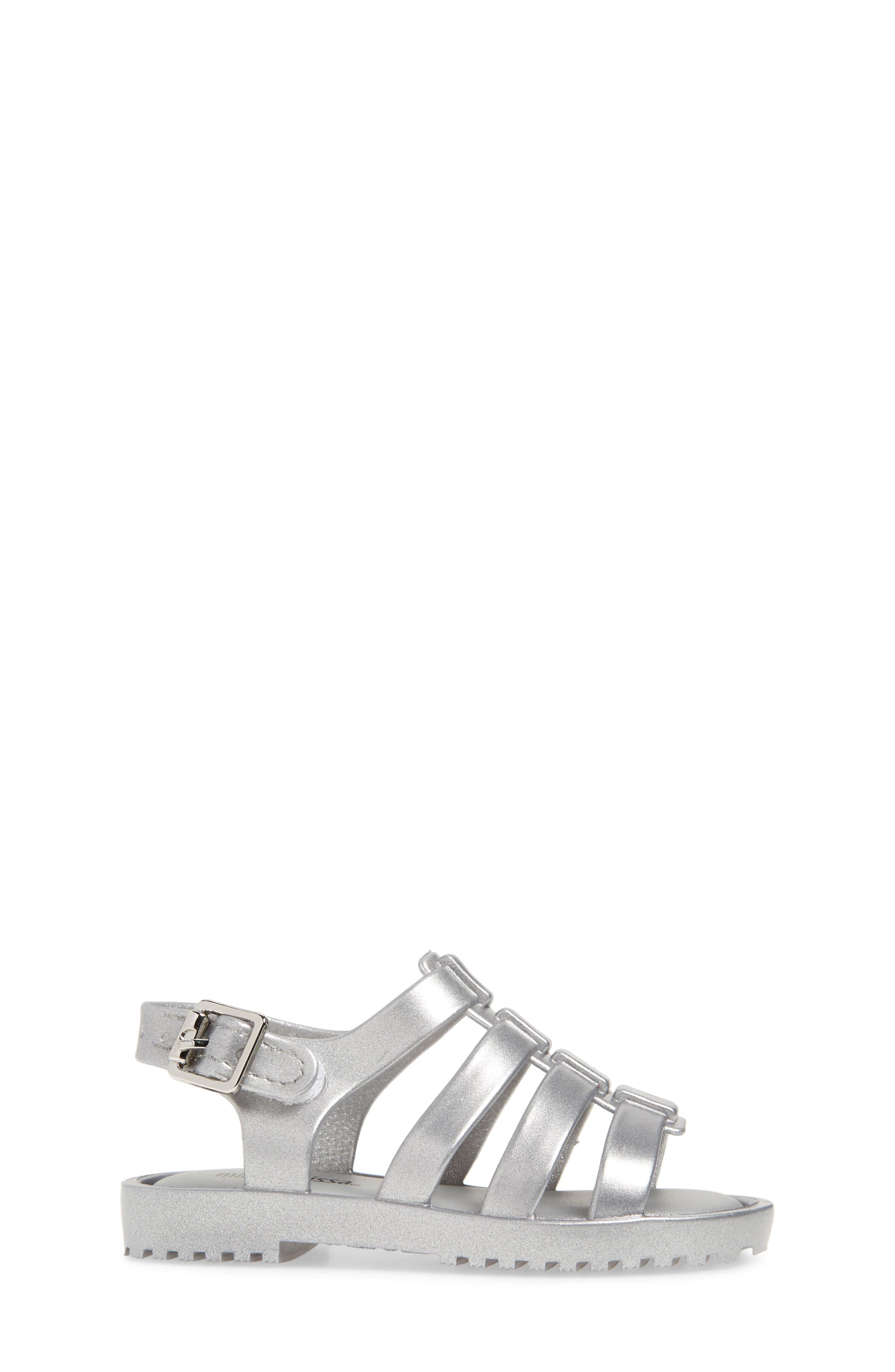 Mini Flox Shine Sandal,                             Alternate thumbnail 3, color,                             042