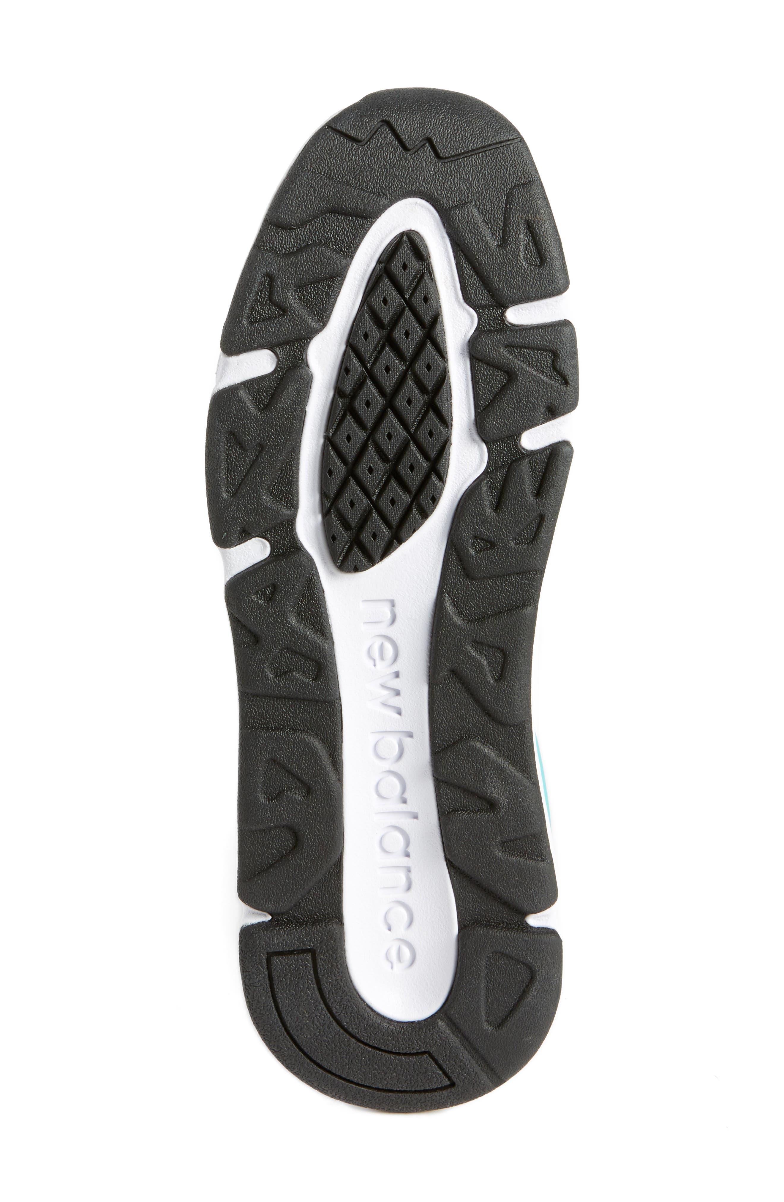 X-90 Knit Sneaker,                             Alternate thumbnail 6, color,                             WHITE