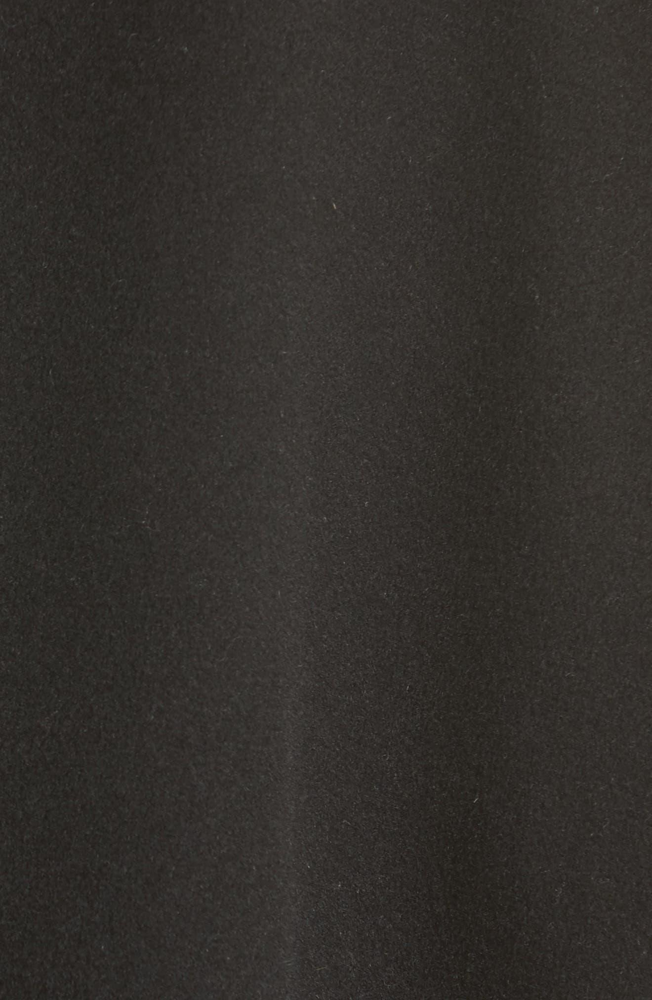 Reversible Wool & Cashmere Clutch Coat,                             Alternate thumbnail 6, color,                             006