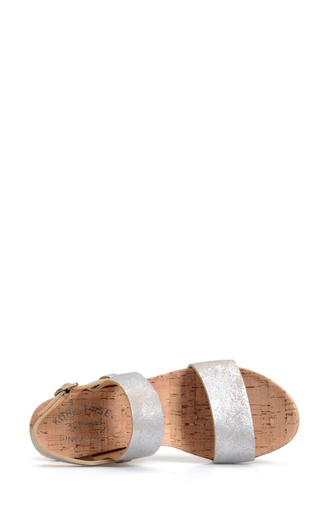 'Austin' Slingback Wedge Sandal,                             Alternate thumbnail 27, color,