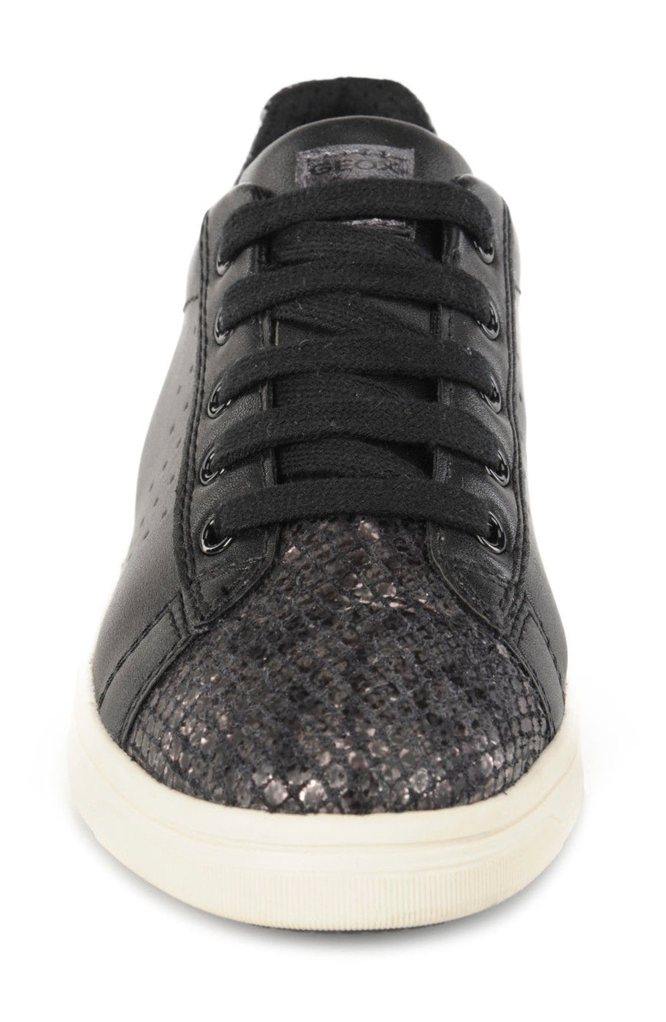 Cave Up Girl Low Top Sneaker,                             Alternate thumbnail 4, color,                             001
