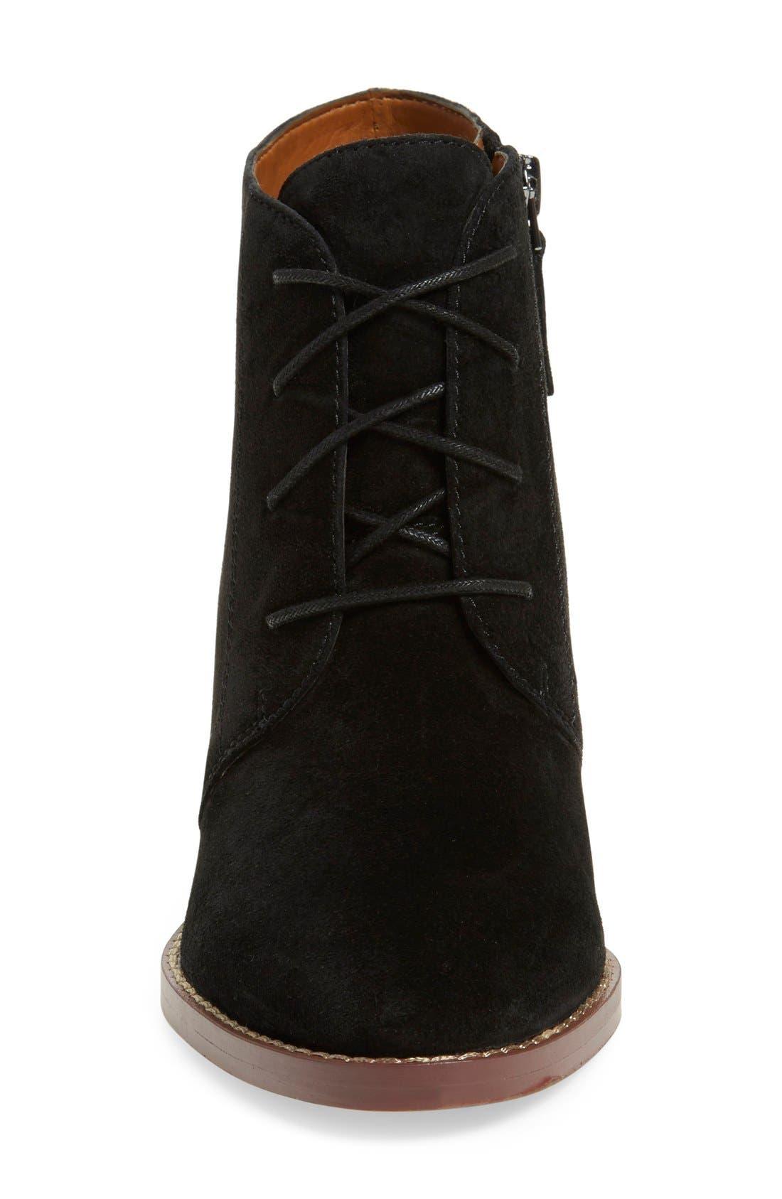 'Omani' Block Heel Bootie,                             Alternate thumbnail 7, color,